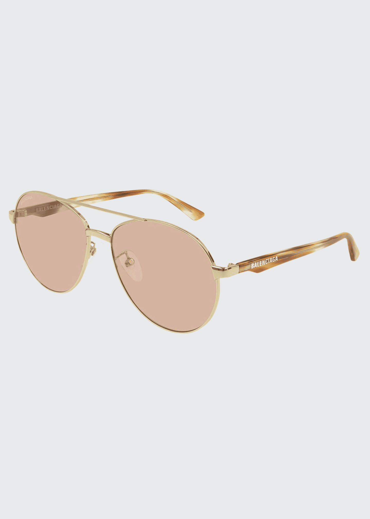 Image 1 of 1: Round Metal Sunglasses