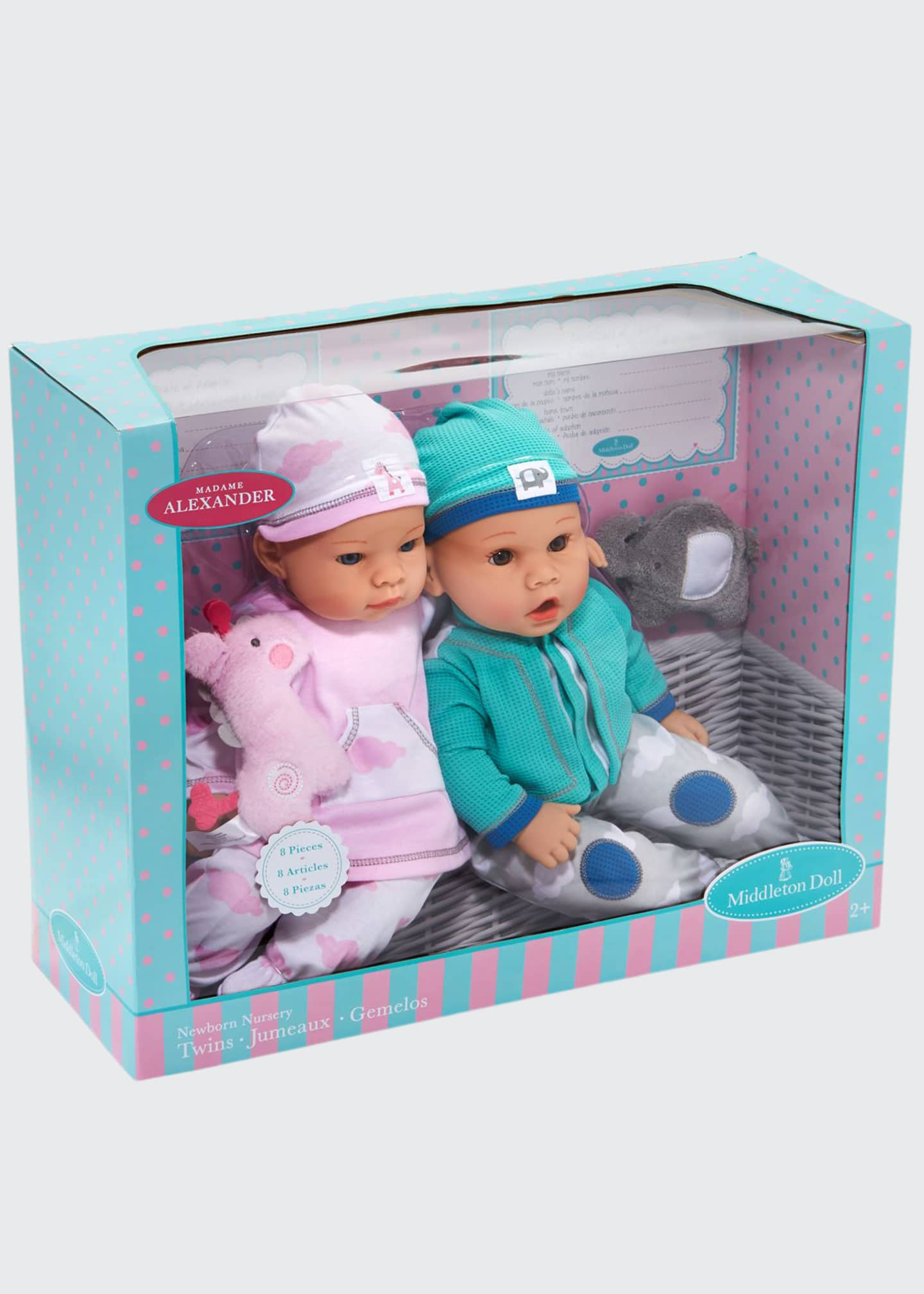 "Image 1 of 1: 16"" Newborn Twin Dolls"