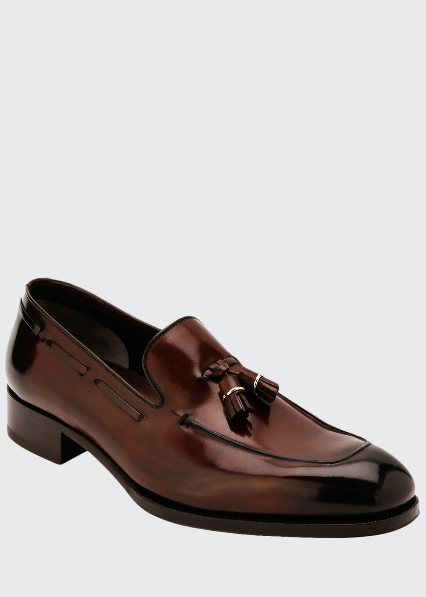 Image 1 of 3: Men's Tassel Loafers