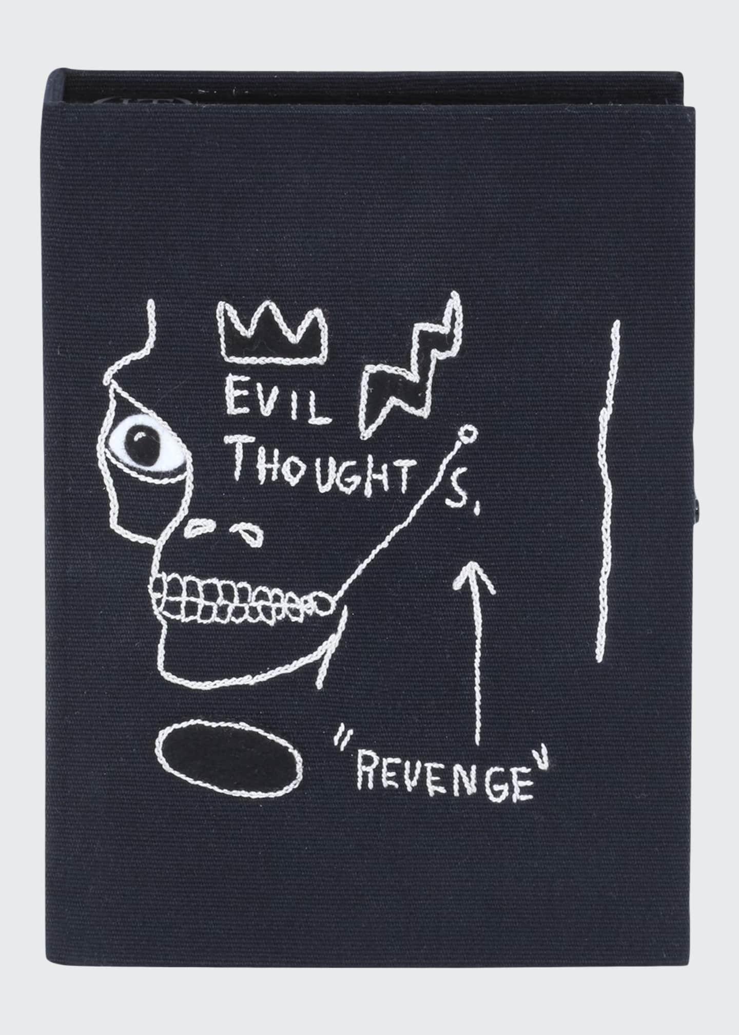 Olympia Le-Tan Basquiat Revenge Artwork Book Clutch Bag
