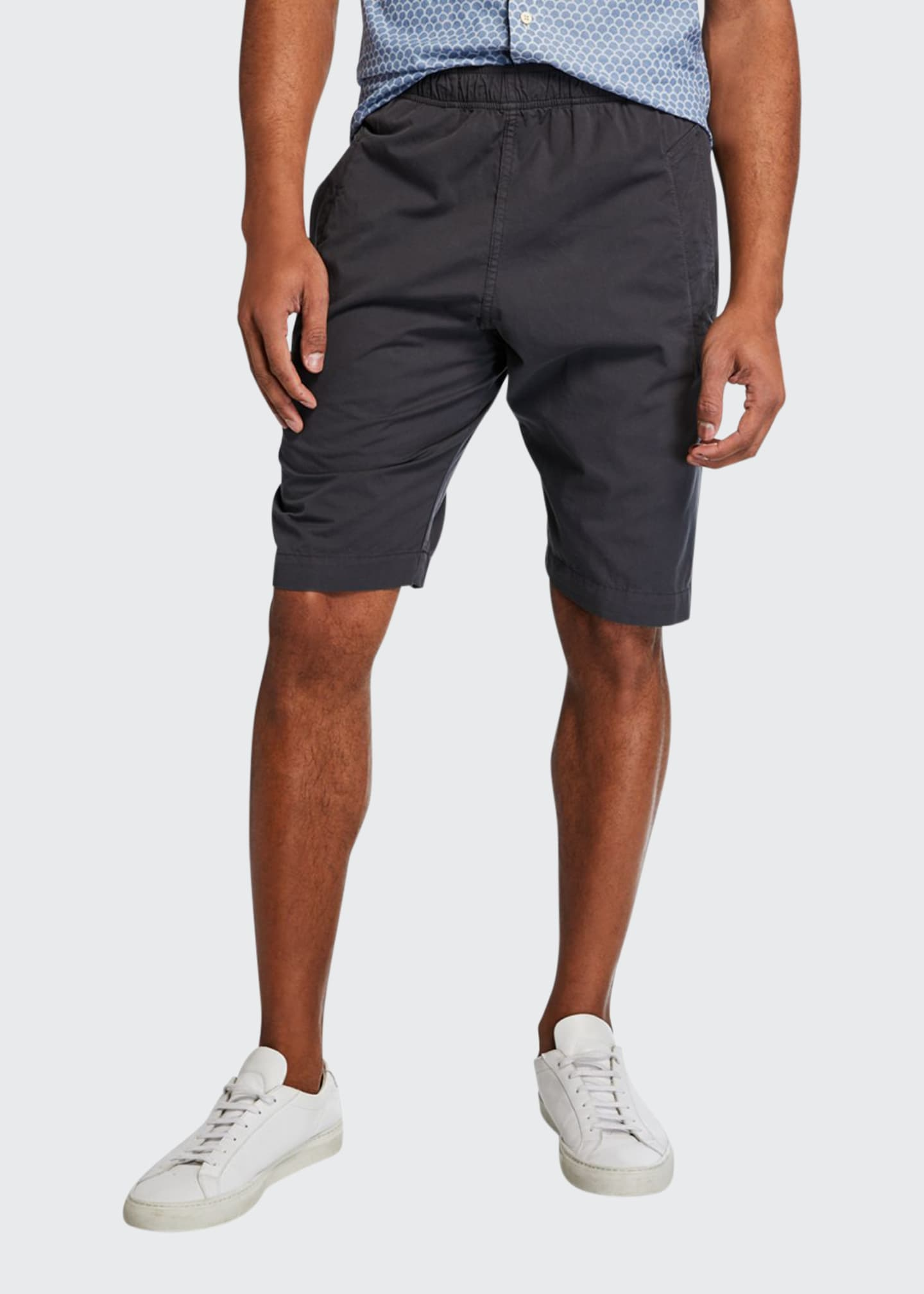 Image 1 of 3: Men's Cotton Jogger Shorts