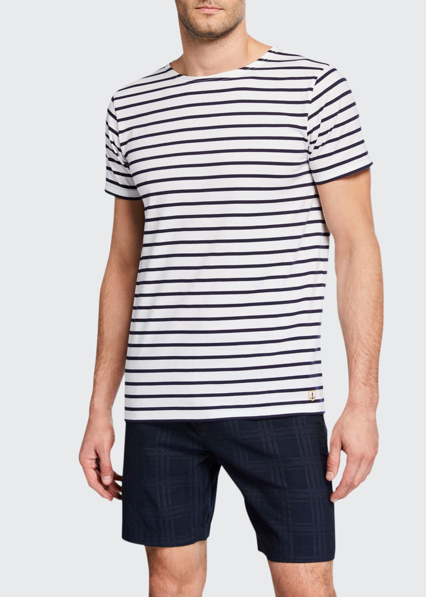 Image 1 of 2: Men's Mariniere MC Heritage Stripe T-Shirt