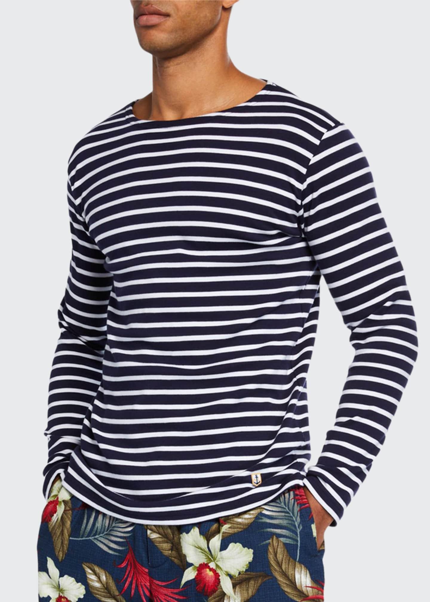 Armor Lux Men's Marinire Heritage Striped Long-Sleeve T-Shirt