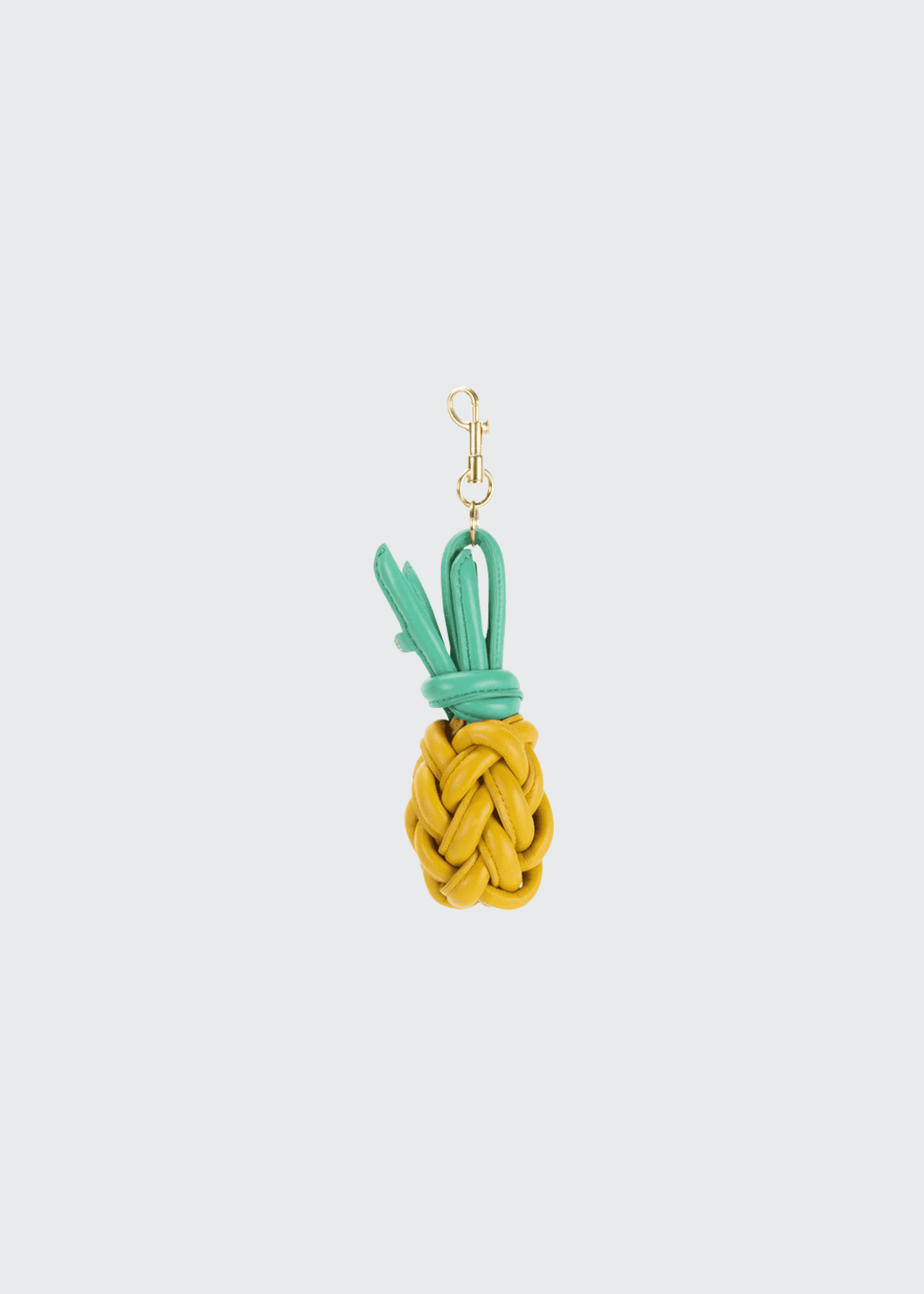 Anya Hindmarch Knotted Leather Pineapple Charm