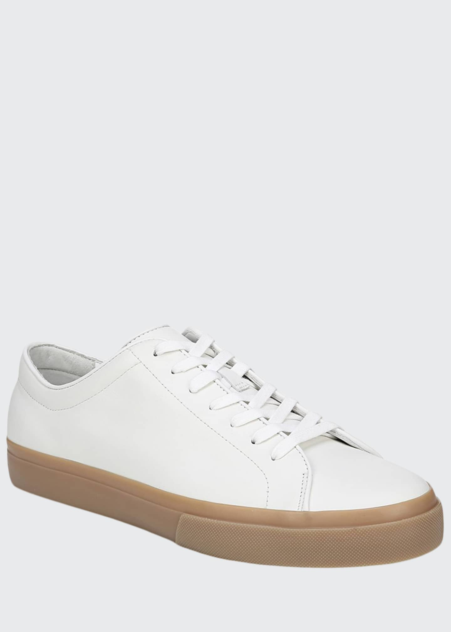 Image 1 of 5: Men's Farrell Calf Leather Low-Top Sneakers