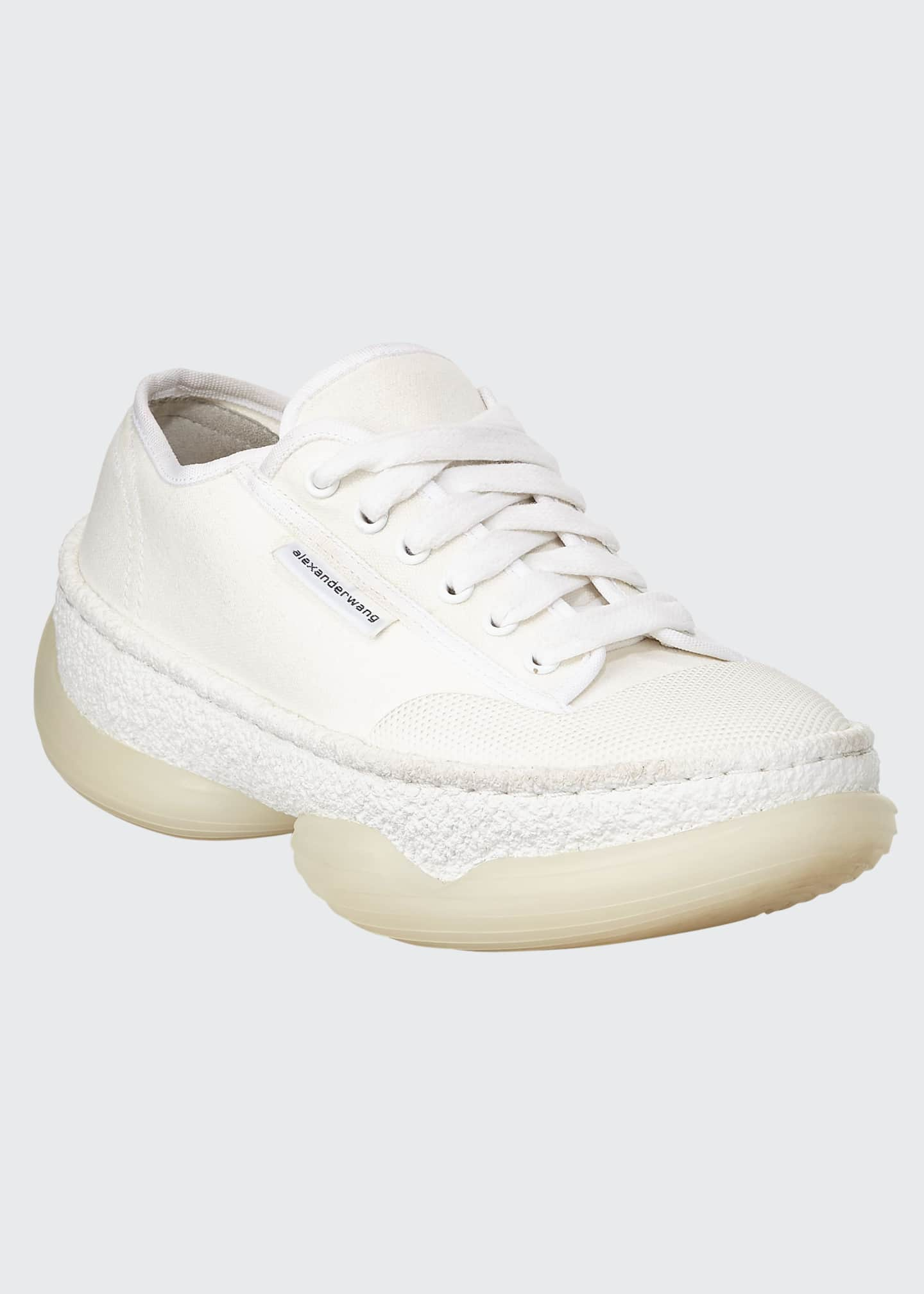 Alexander Wang A1 Low-Top Canvas Sneakers