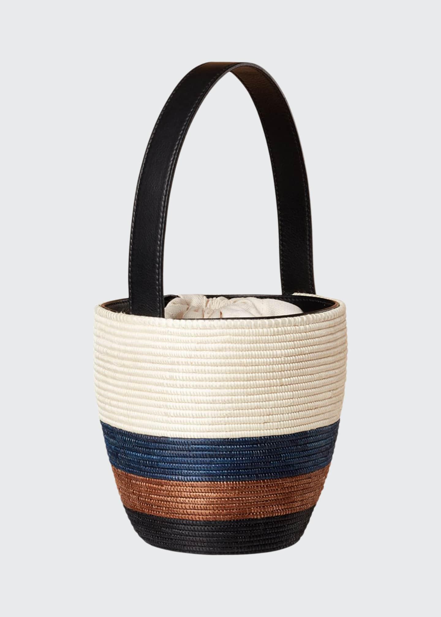 Cesta Collective Tri-Tone Lunch Pail Bucket Bag