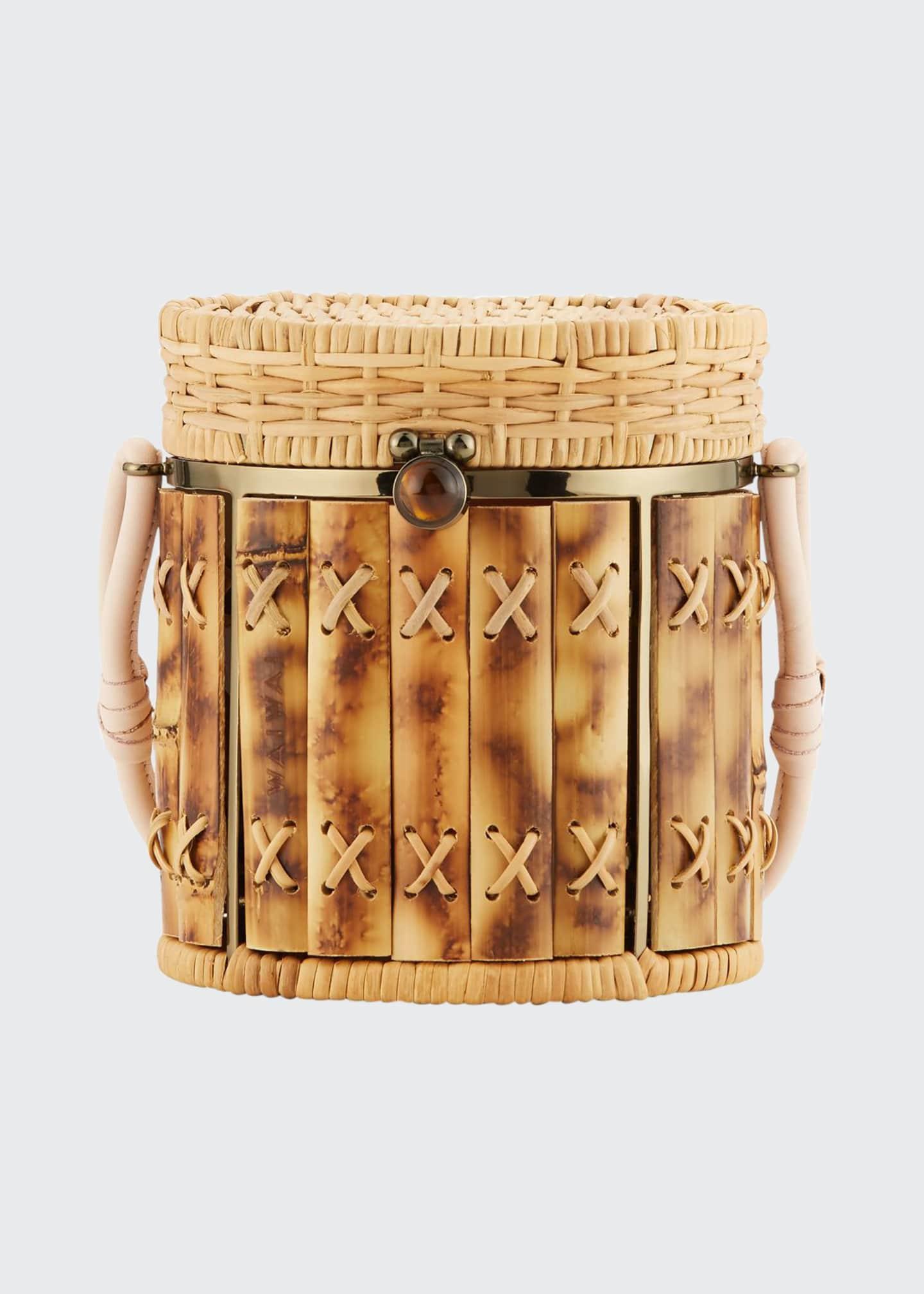 Wai Wai Bamboo Bongo Bucket Bag