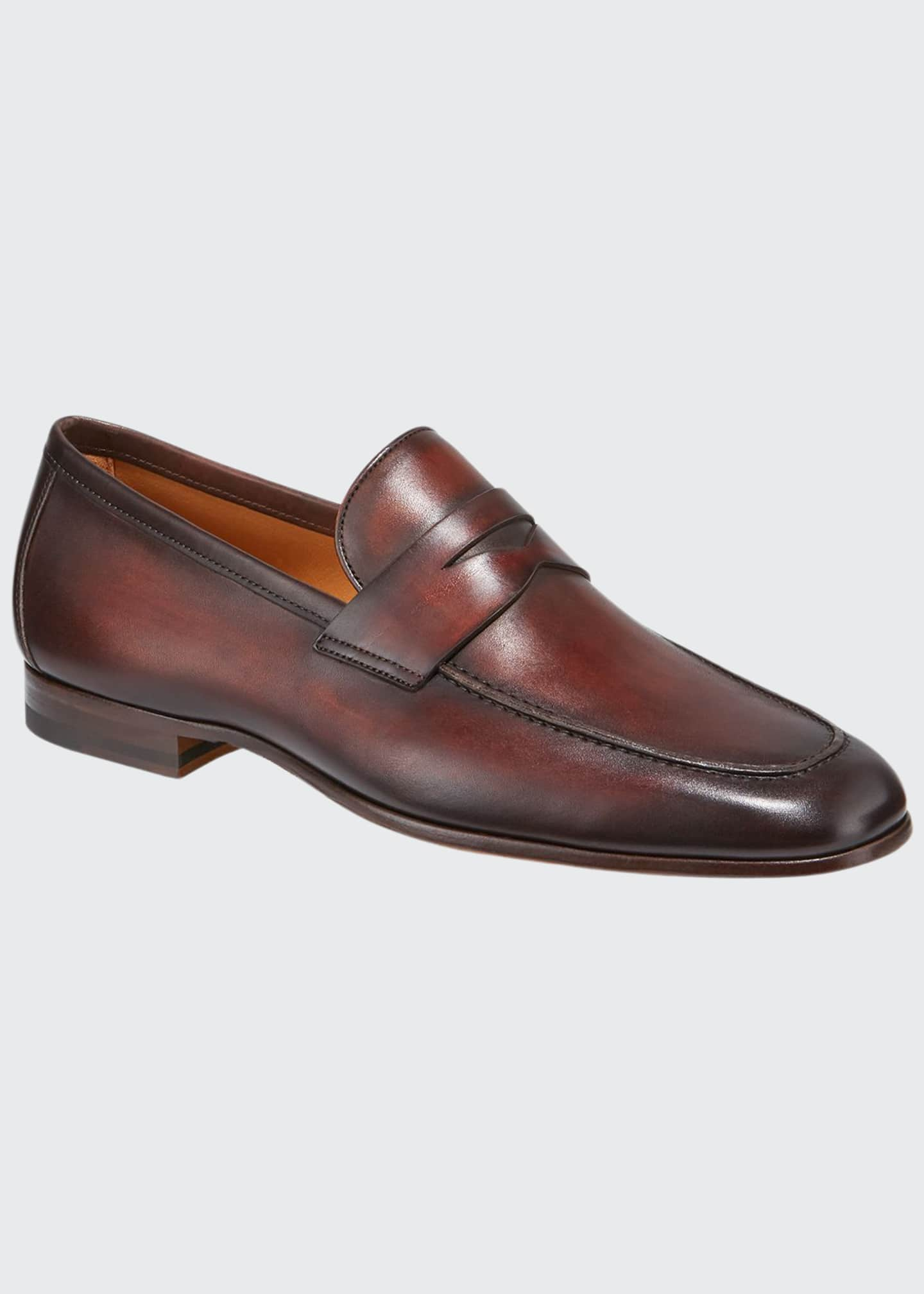 Magnanni for Neiman Marcus Men's Boltiarcade Caoba Leather