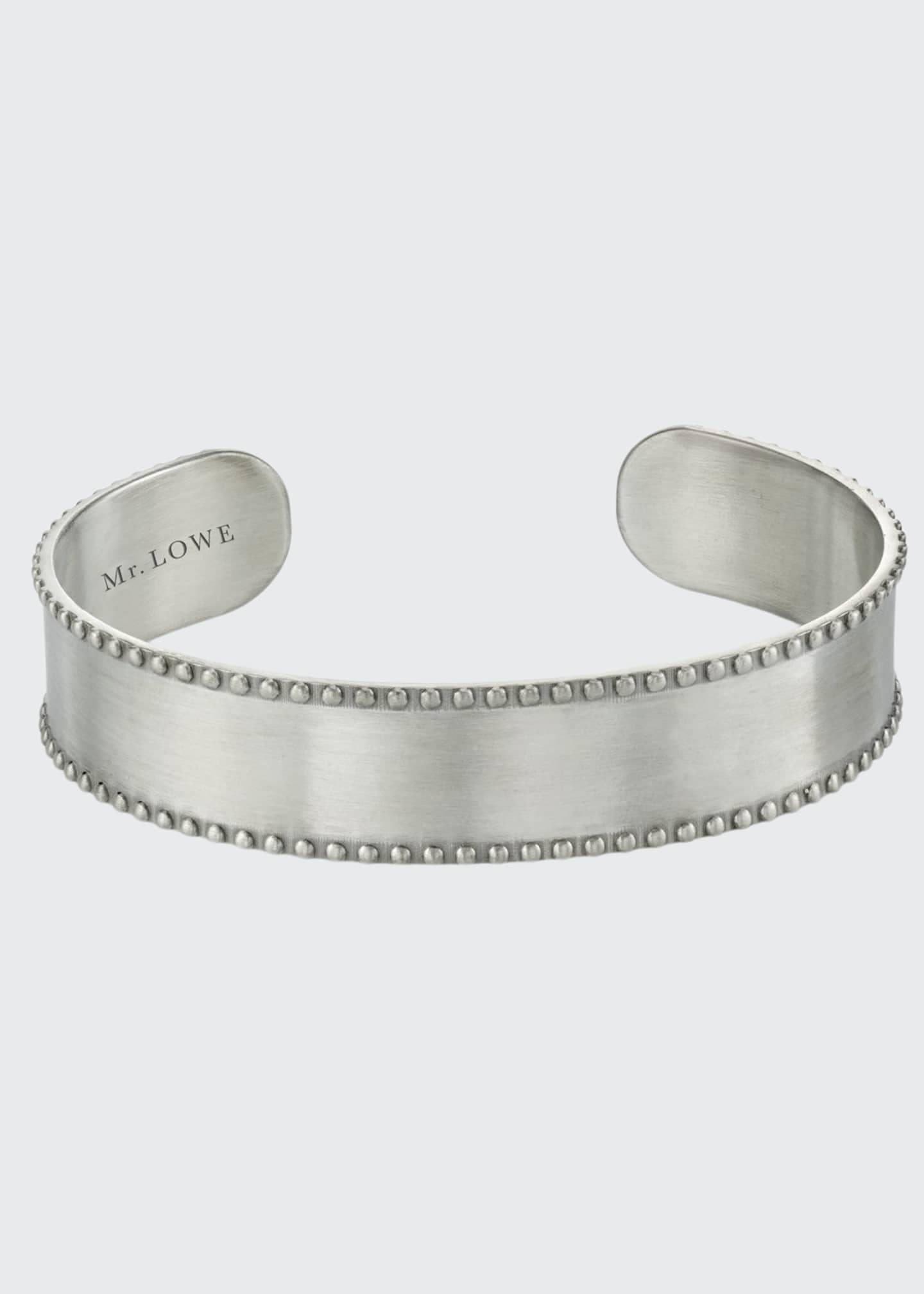 Image 1 of 1: Men's Medium Cuff w/ Milgrain Trim, Size M
