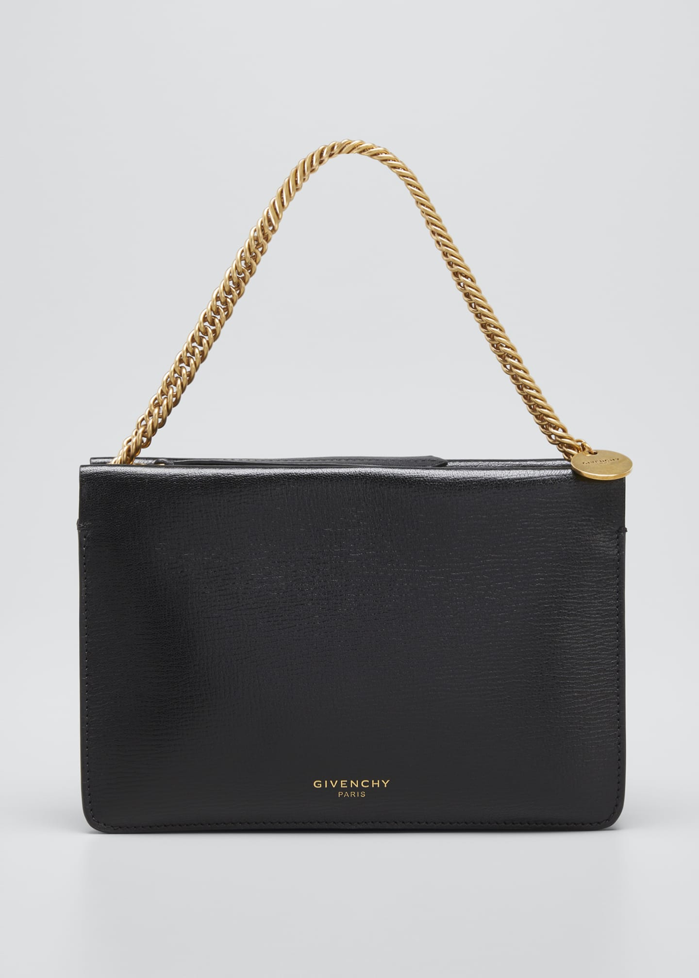 Givenchy Cross Small Leather Crossbody Bag