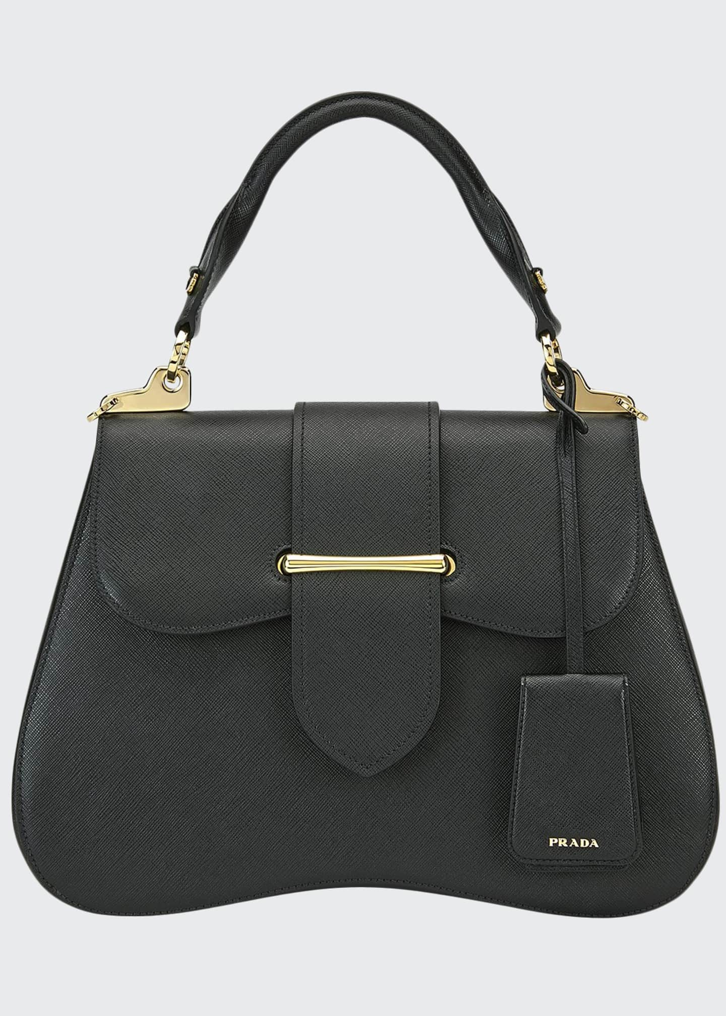 Large Prada Sidonie Top Handle Tote