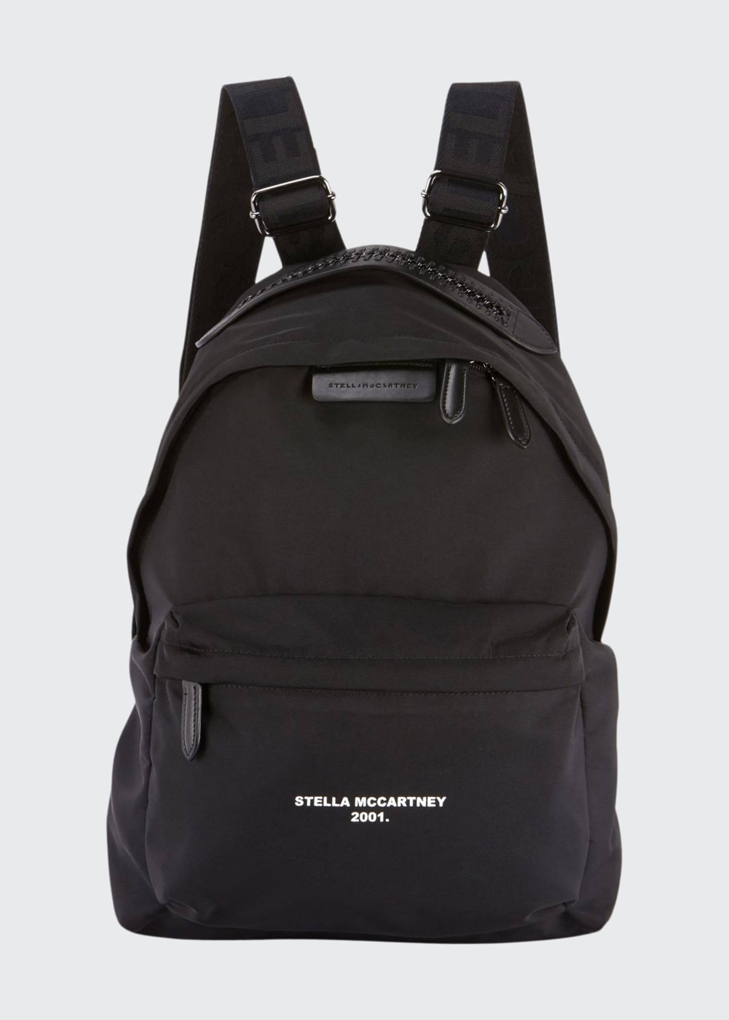 Image 1 of 2: Falabella Nylon Zip Backpack
