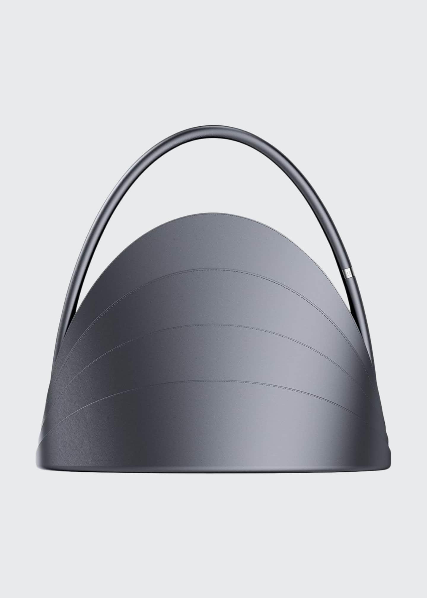 Gabo Guzzo Millefoglie Layered Top-Handle Bag, Gray