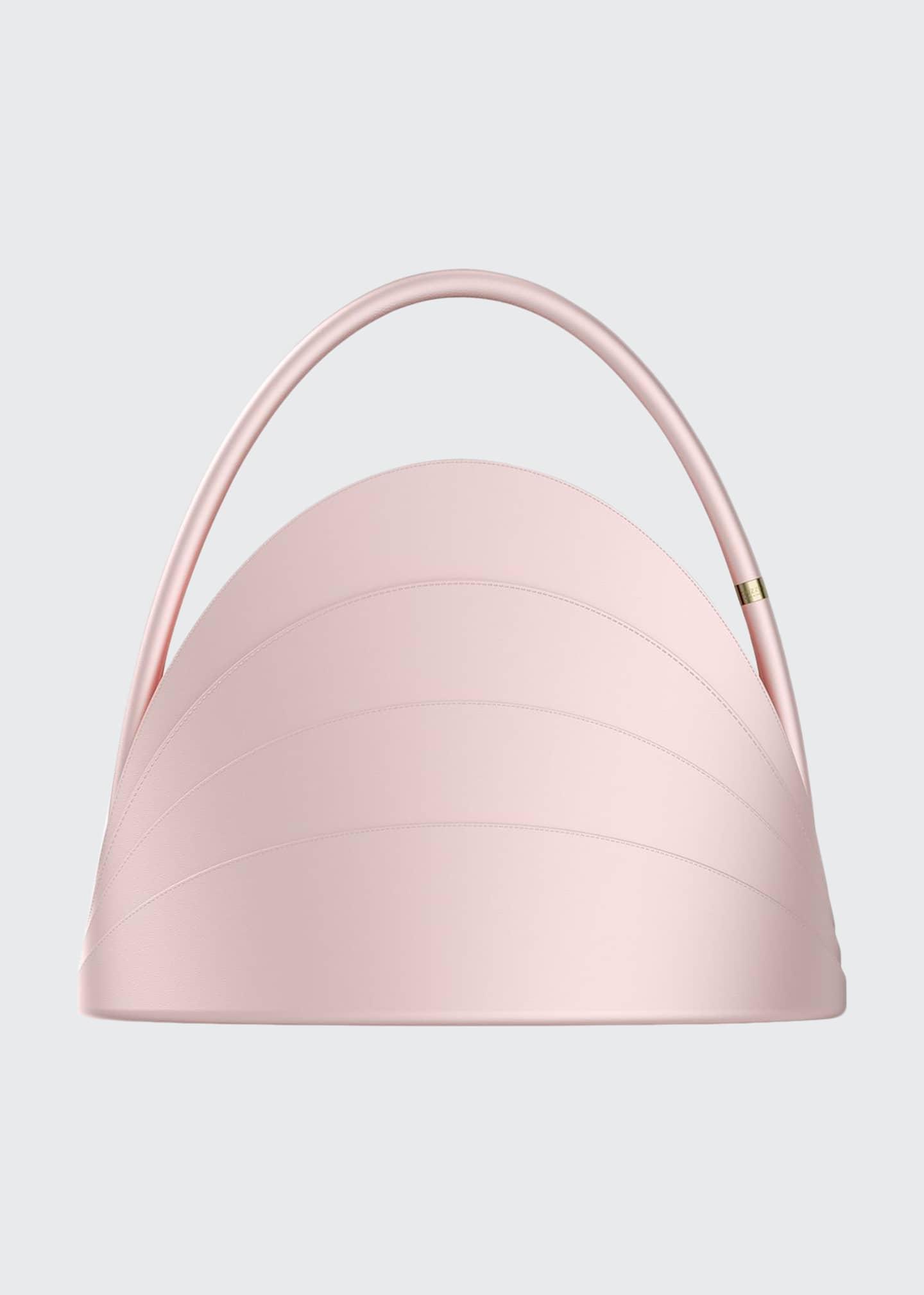 Gabo Guzzo Millefoglie Layered Top-Handle Bag, Pink