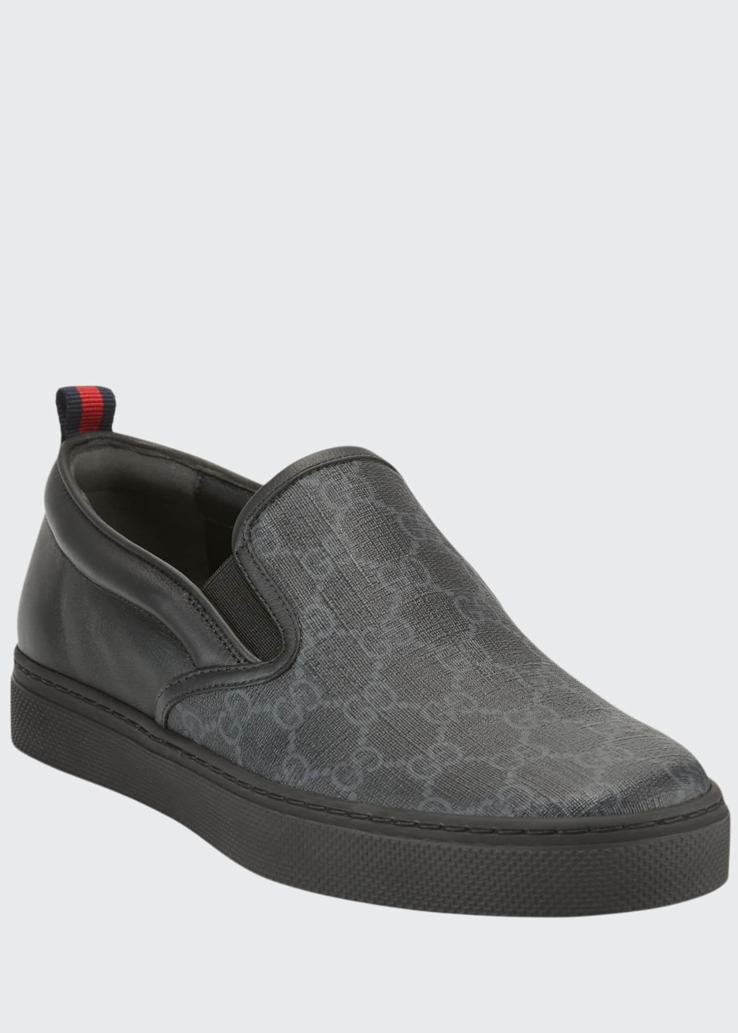 Gucci Men's Dublin Logo Slip-On Sneakers