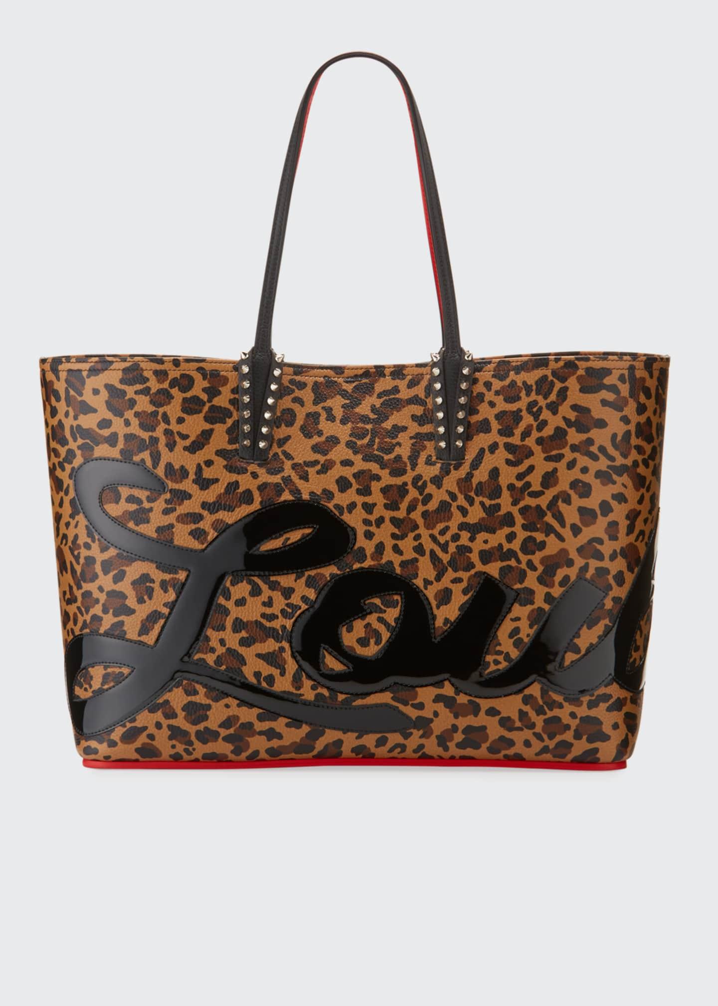 Christian Louboutin Cabata Logo Calf Empire Tote Bag