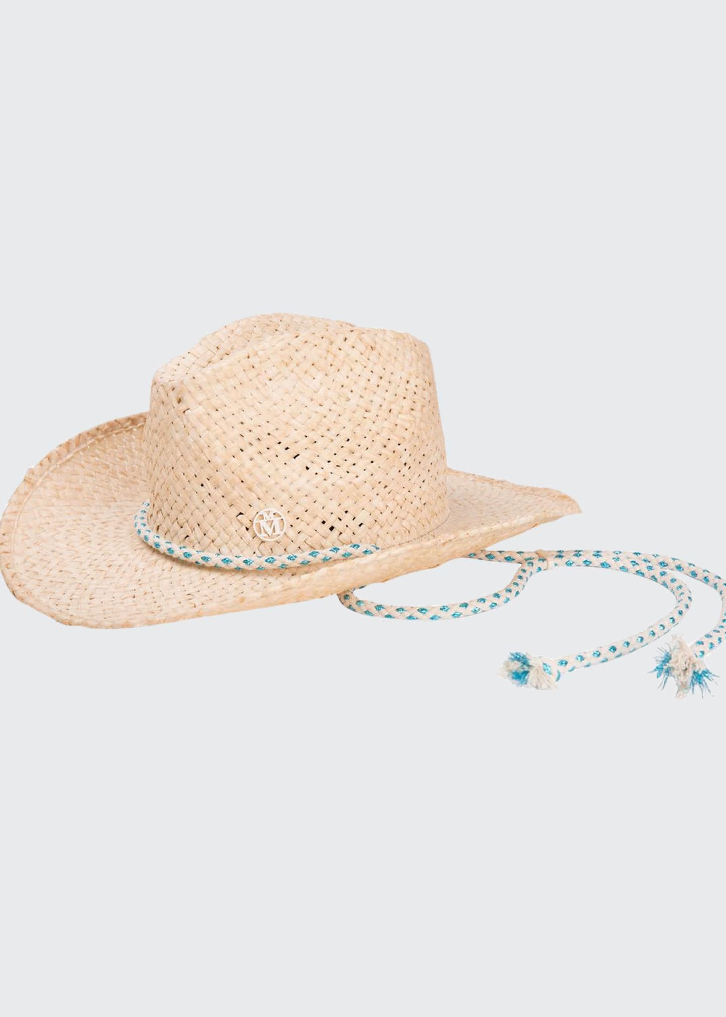Maison Michel Austin Raffia Cowboy Hat