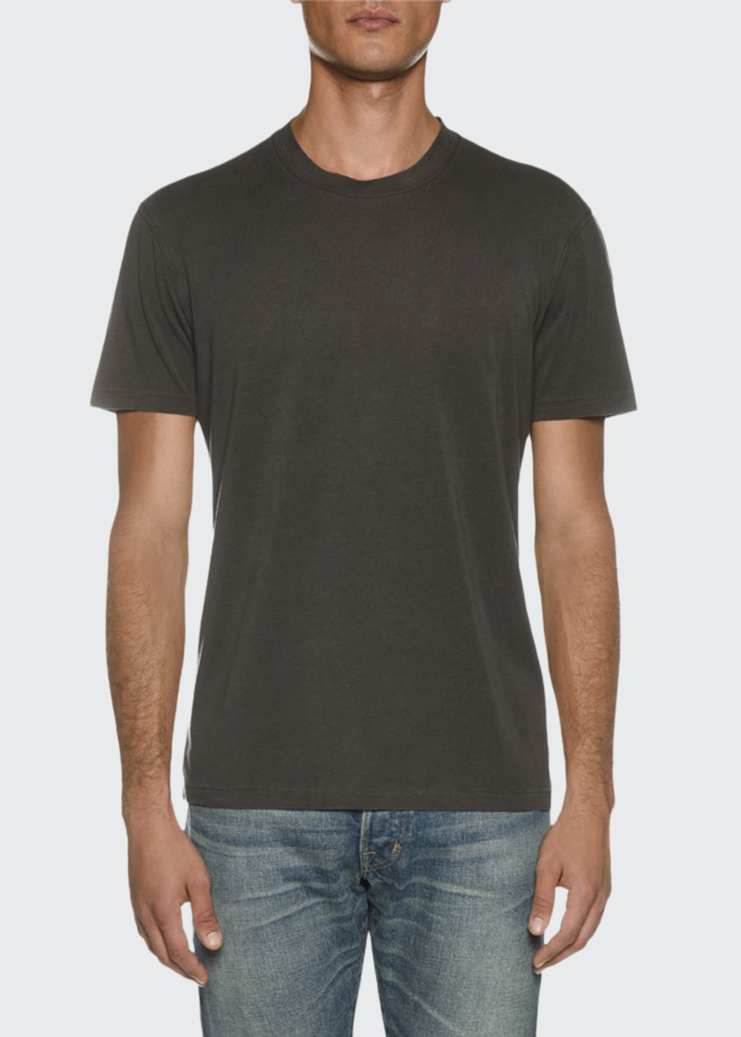Image 1 of 2: Men's Short-Sleeve Solid T-Shirt