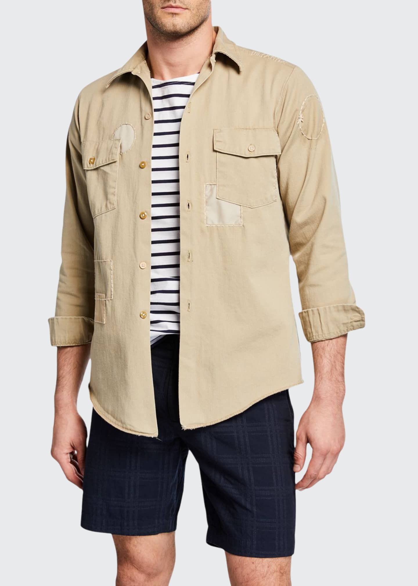 Atelier & Repairs Men's The Pan-Am Patchwork Twill