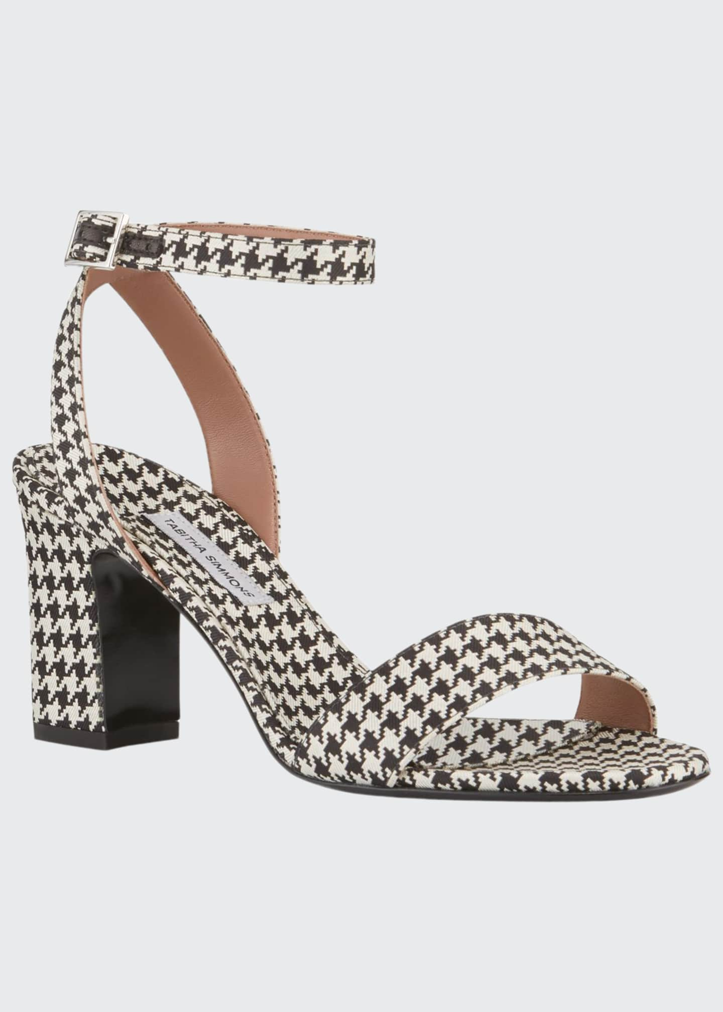 Image 1 of 3: Leticia Houndstooth Sandals