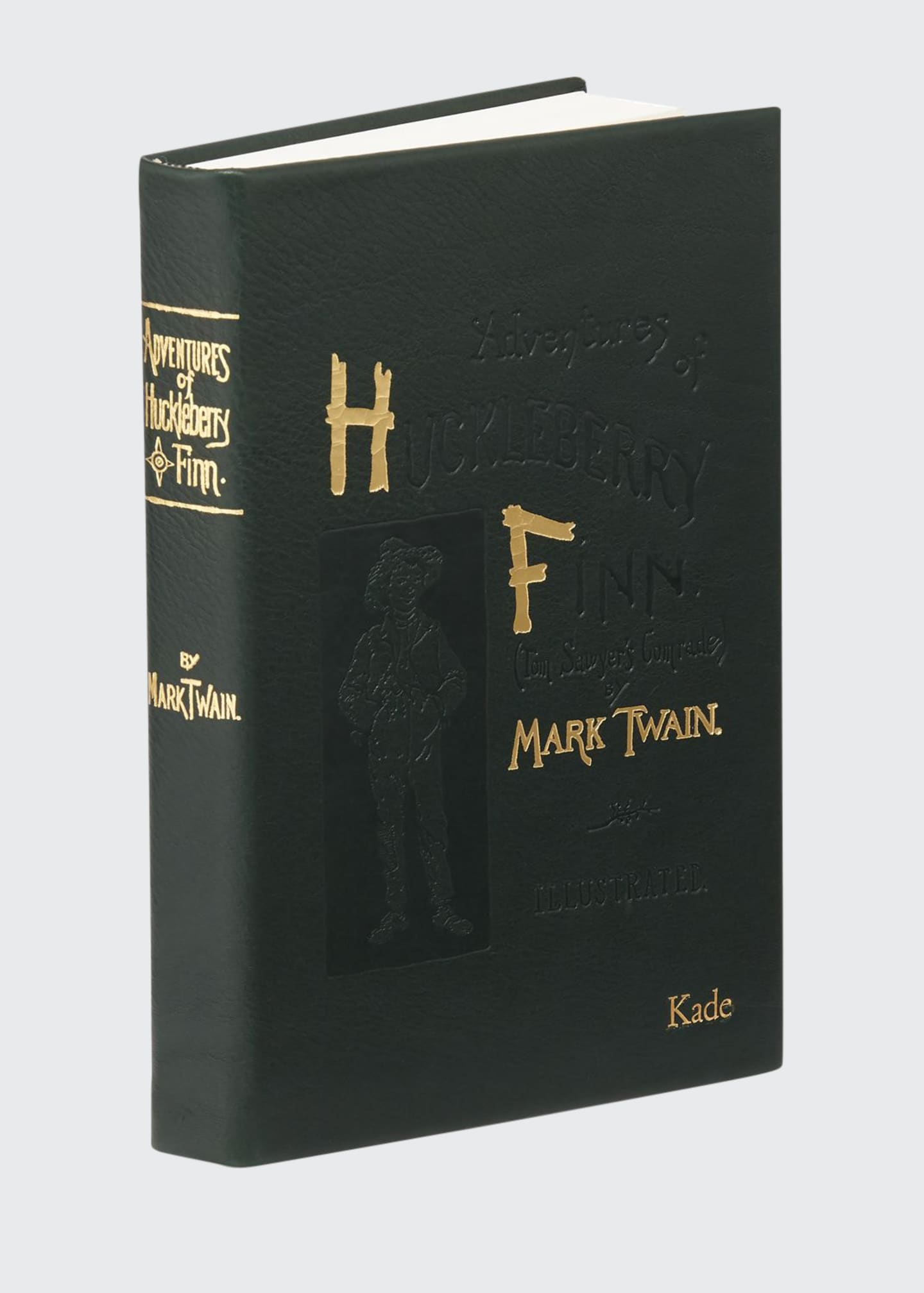 "Image 1 of 1: ""Adventures of Huckleberry Fin"" Book By Mark Twain, Personalized"
