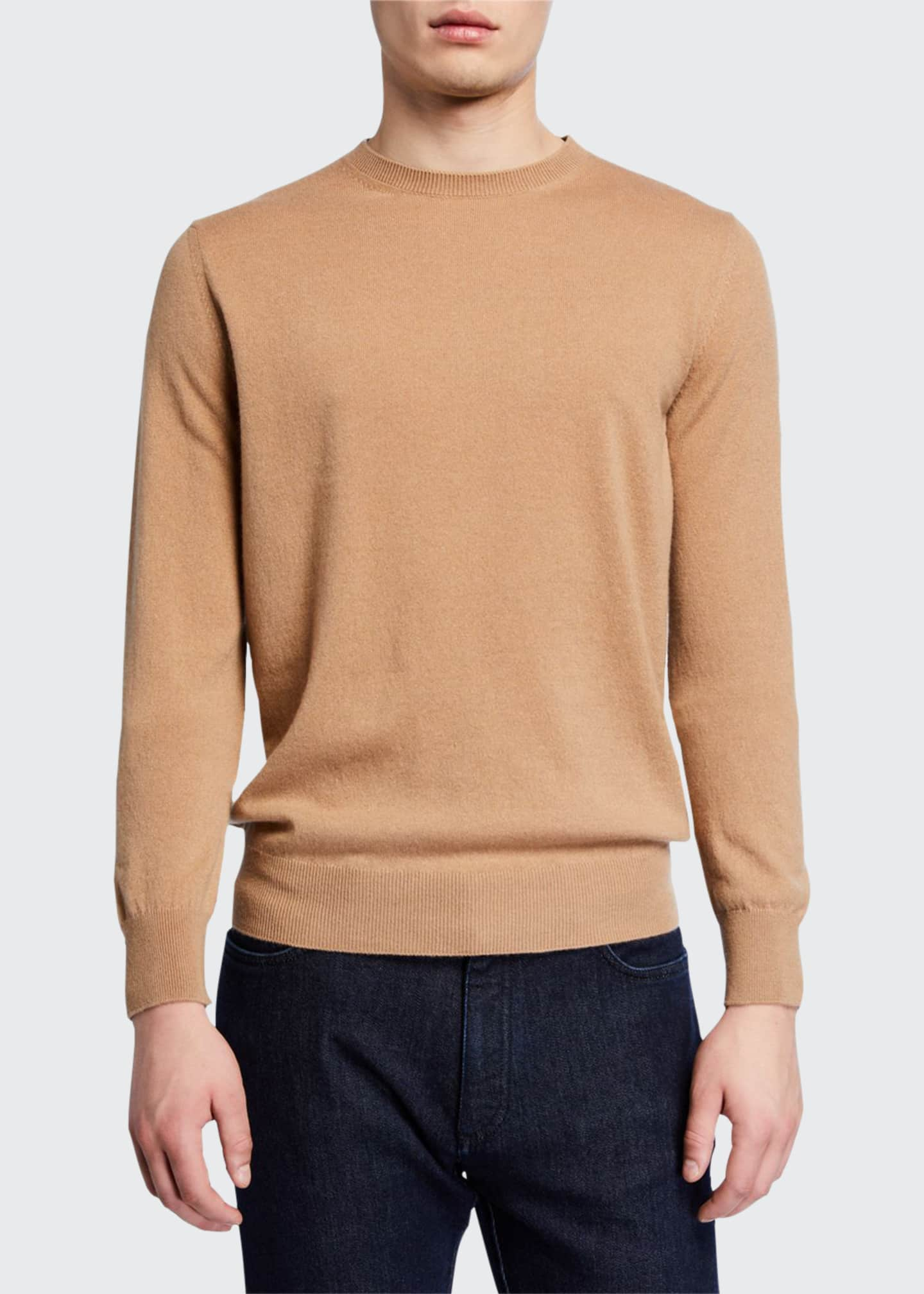 Ermenegildo Zegna Men's Premium Cashmere Crewneck Sweater