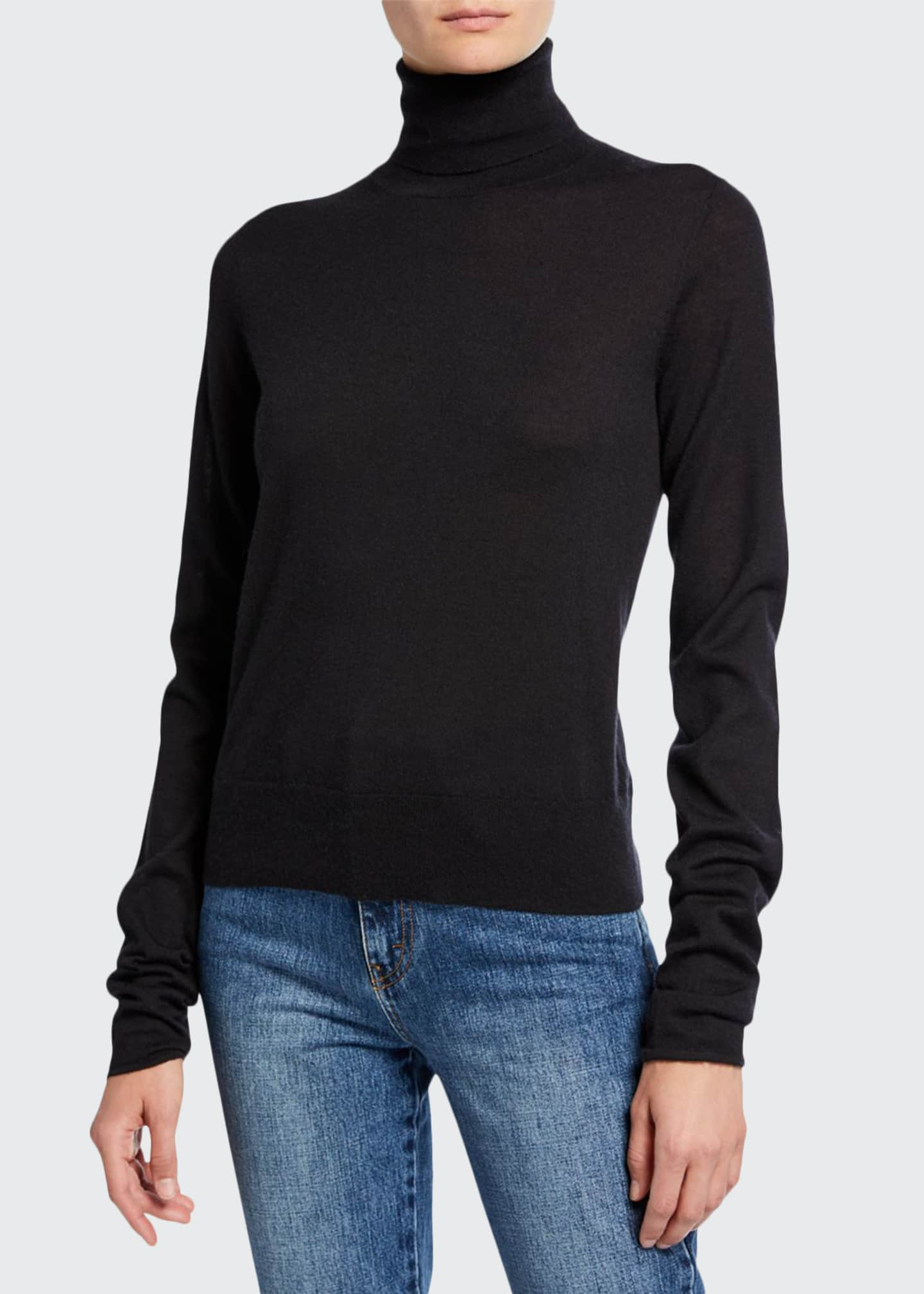 Image 1 of 2: Cashmere Turtleneck Sweater
