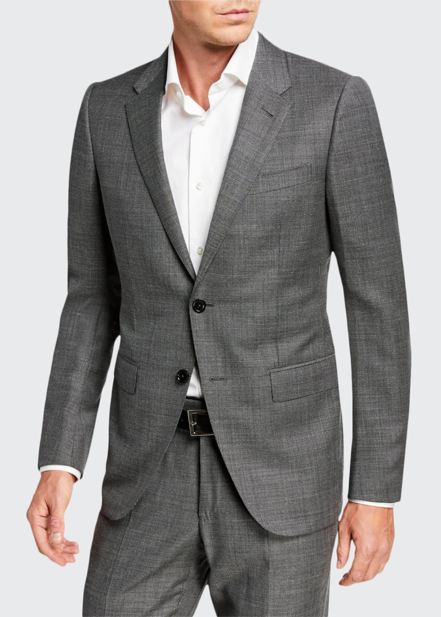 Ermenegildo Zegna Sharskin Wool Suit