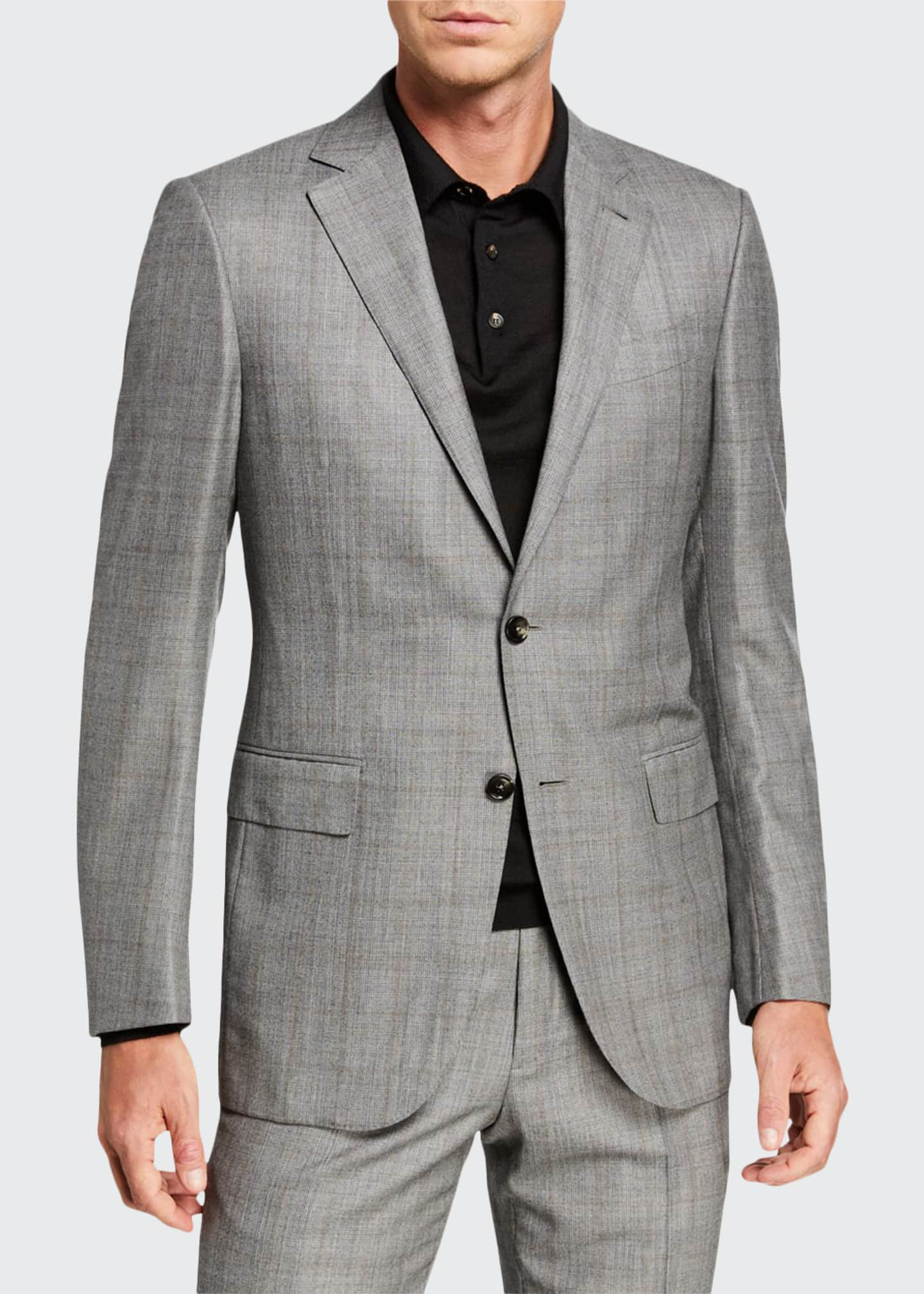 Ermenegildo Zegna Men's Prince of Wales Two-Piece Suit
