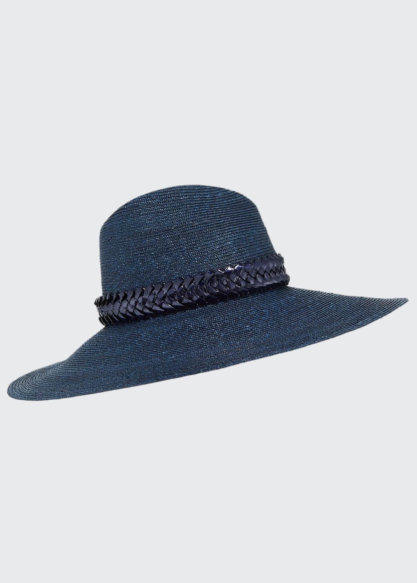 Gigi Burris Jeanne Hand-Blocked Straw Panama Hat