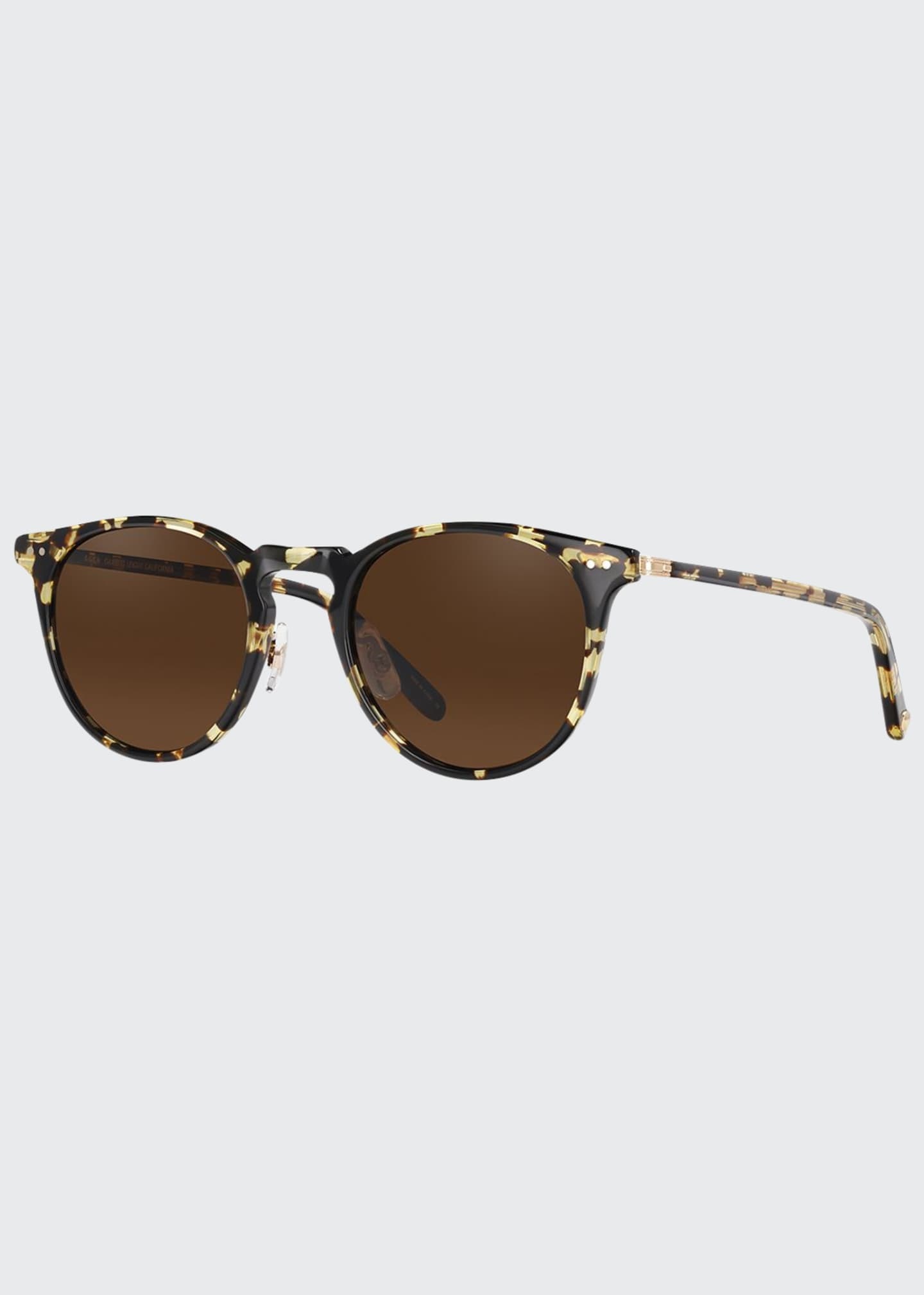 Image 1 of 2: Men's Ocean Block Tortoiseshell Sunglasses