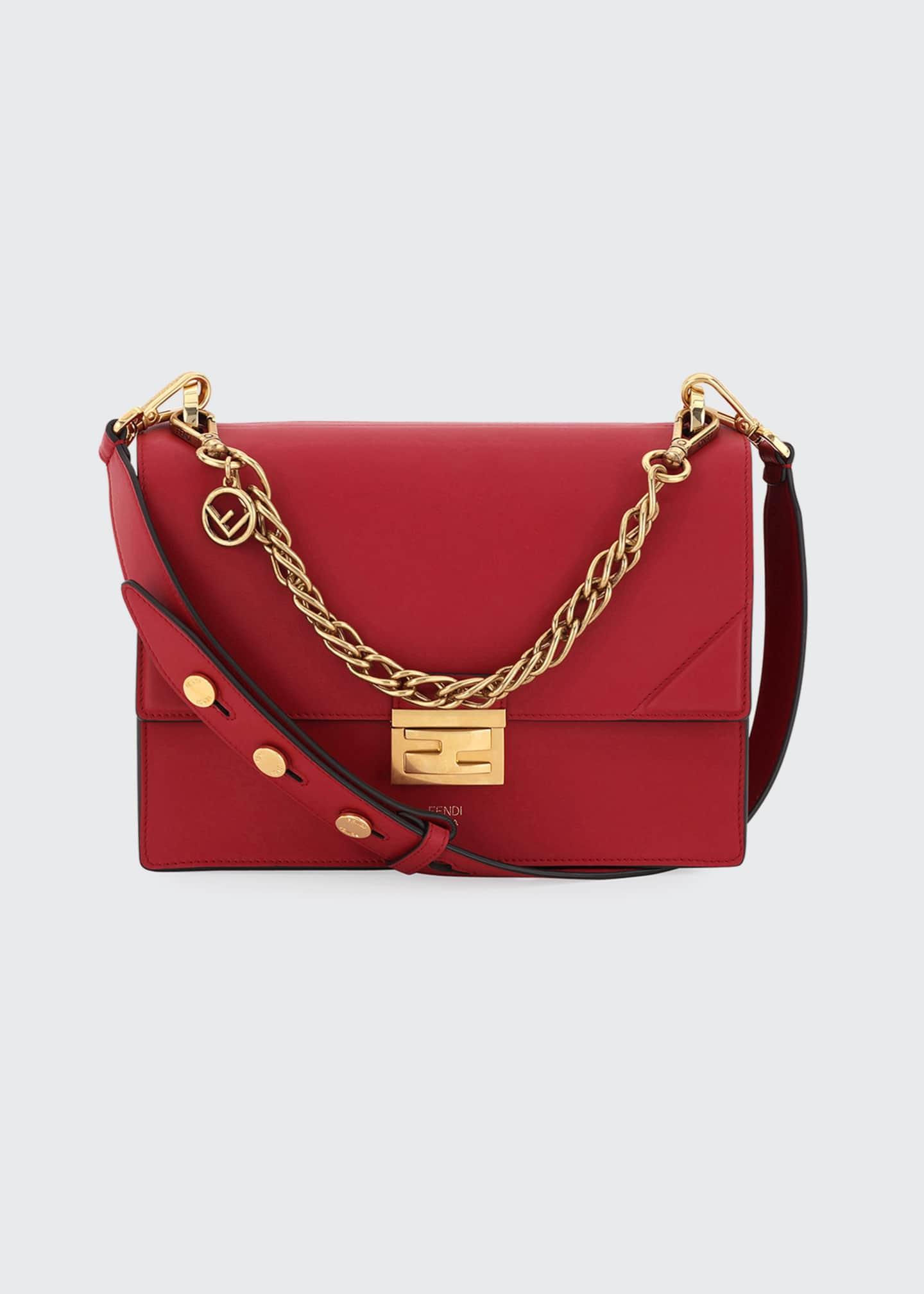 Fendi Kan U Grace Matte Shoulder Bag