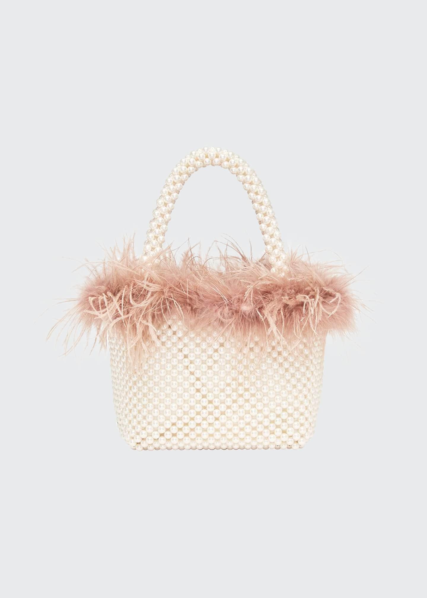 Loeffler Randall Mina Mini Beaded Tote Bag with