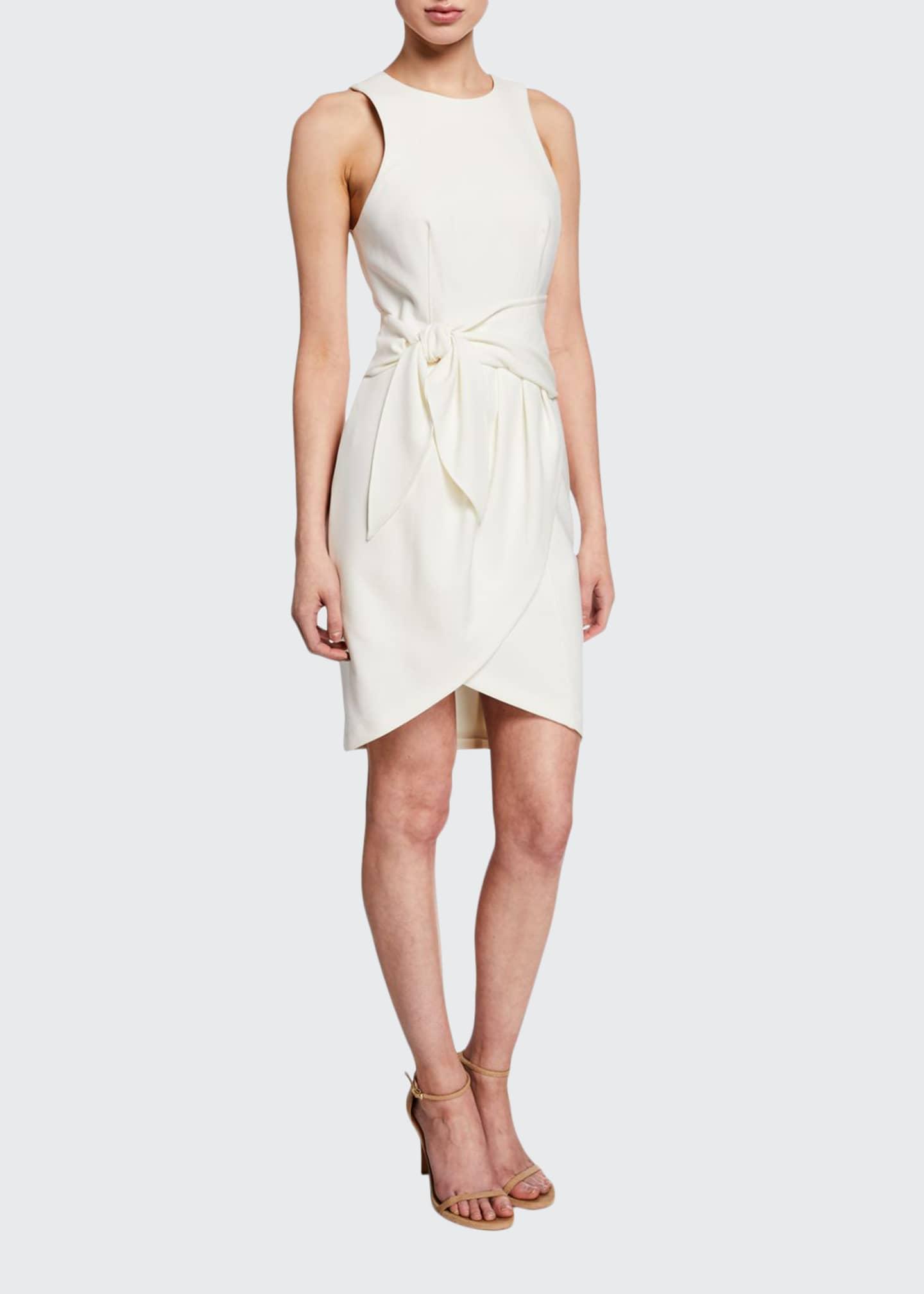 cinq a sept Cassaleigh Tie-Waist Dress