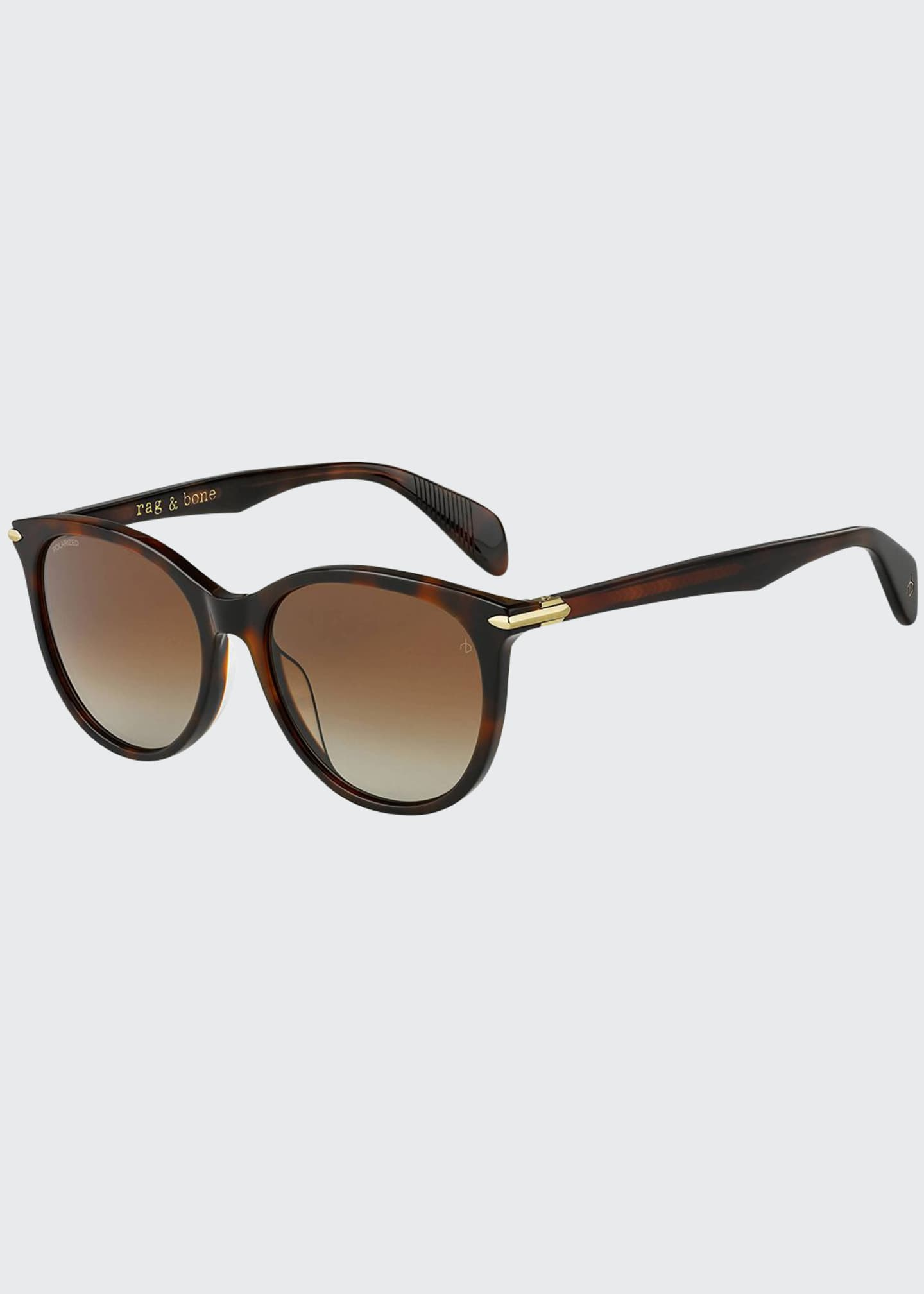 Image 1 of 1: Round Acetate Sunglasses
