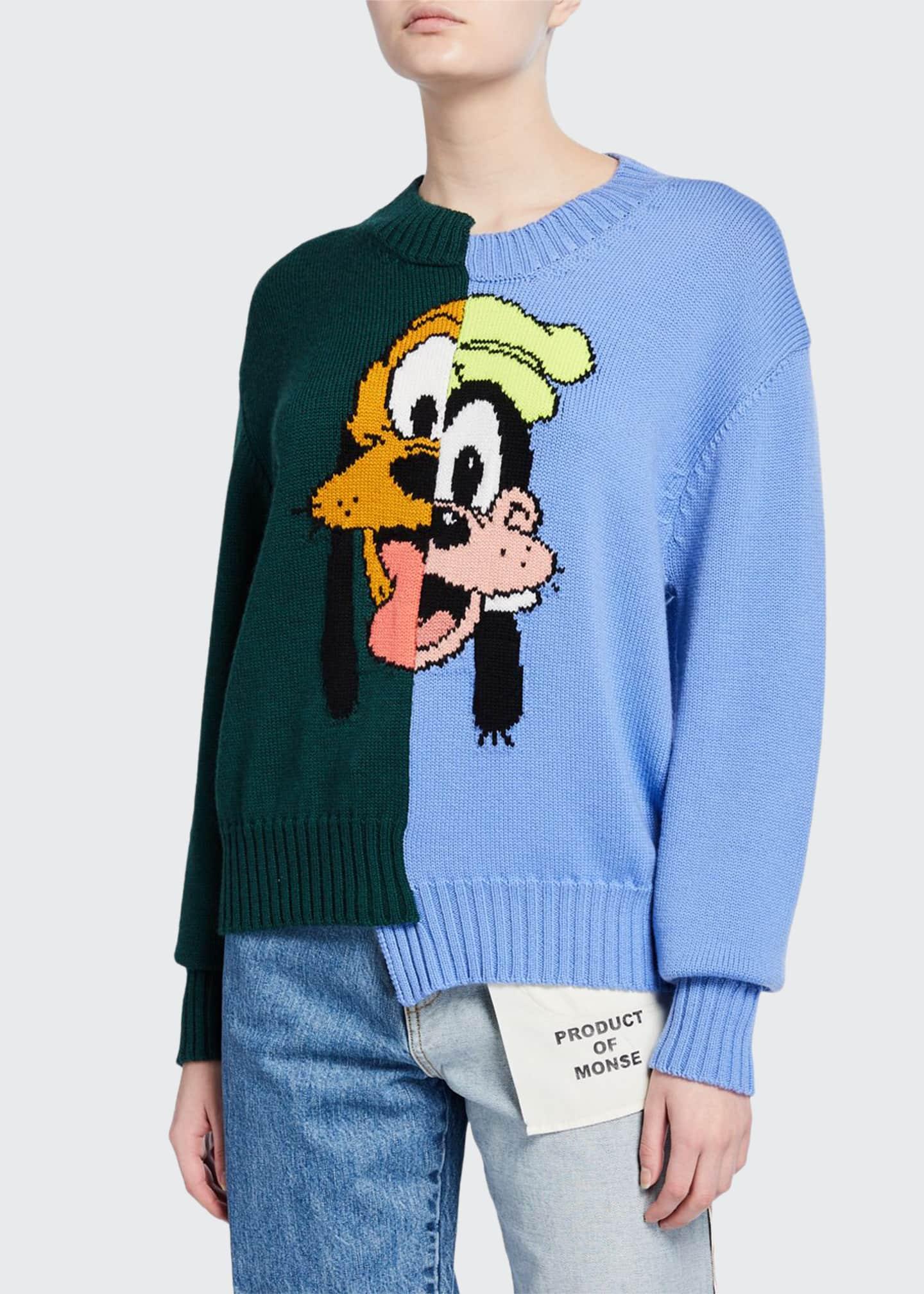 Monse Pluto & Goofy Sweater
