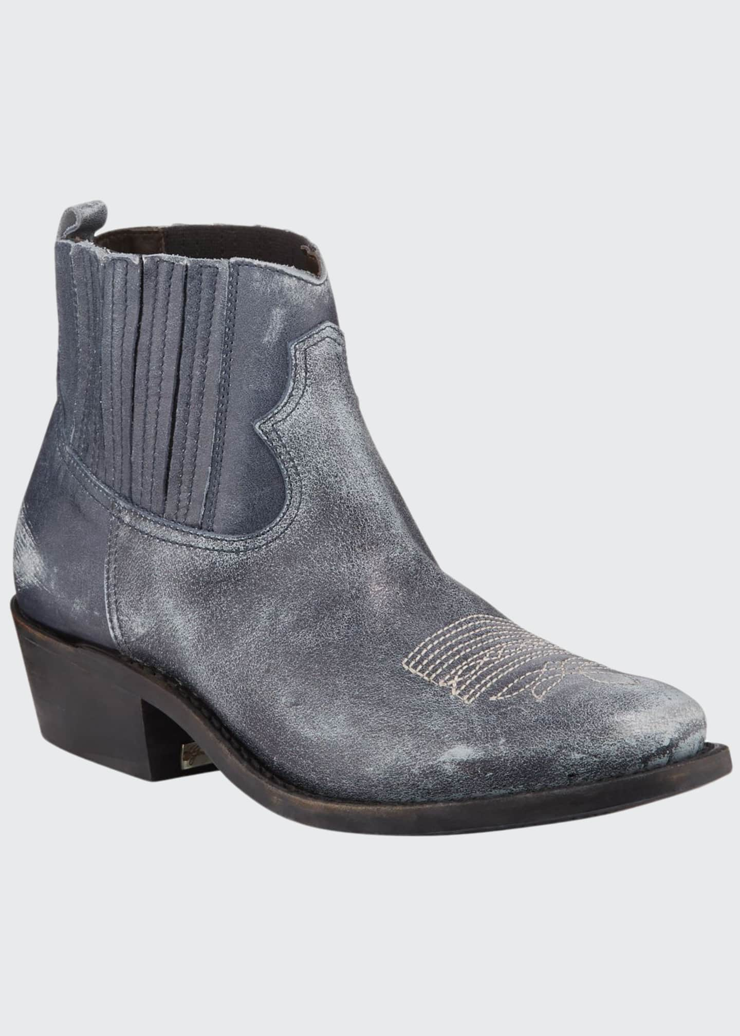 Golden Goose Crosby Western Leather Boots