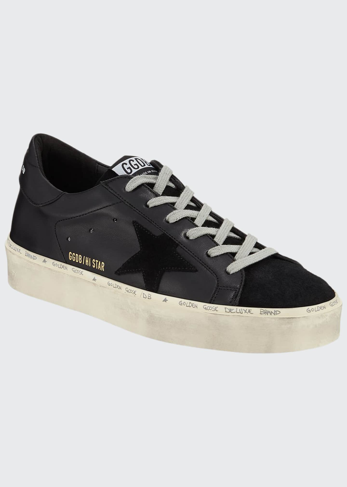 Image 1 of 3: Hi Star Tonal Lace-Up Sneakers