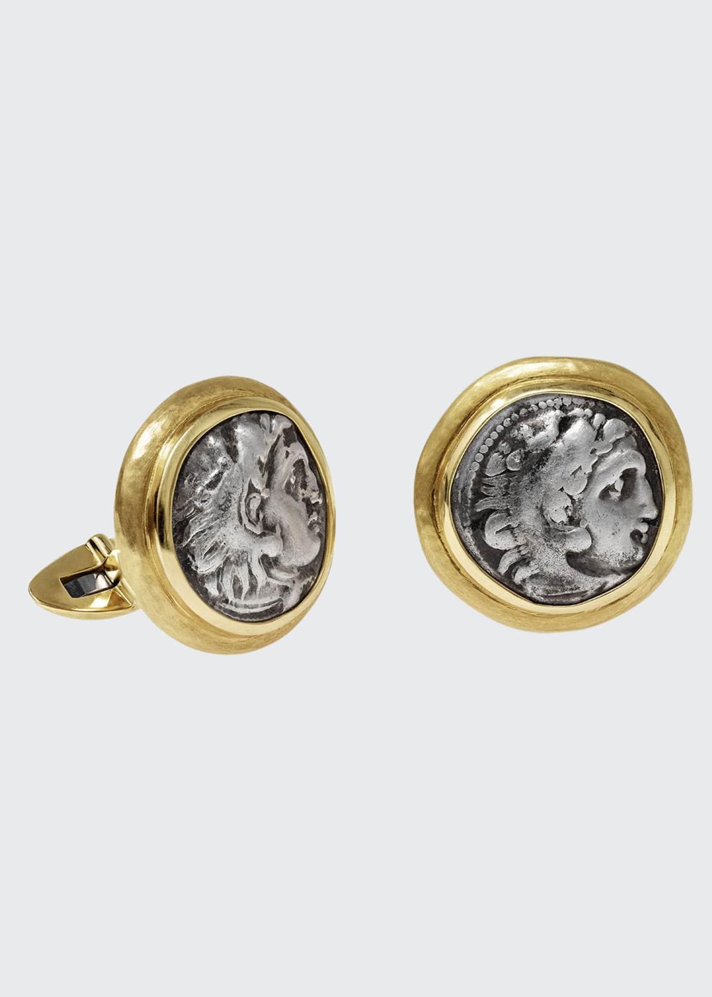 Jorge Adeler Men's Ancient Alexander The Great Coin