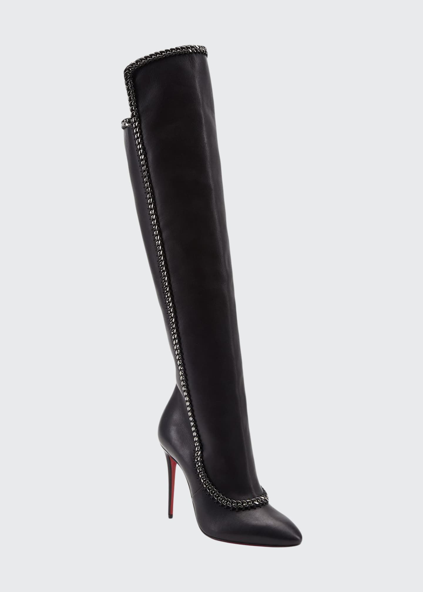 Christian Louboutin Clemence Botta Red Sole Boots