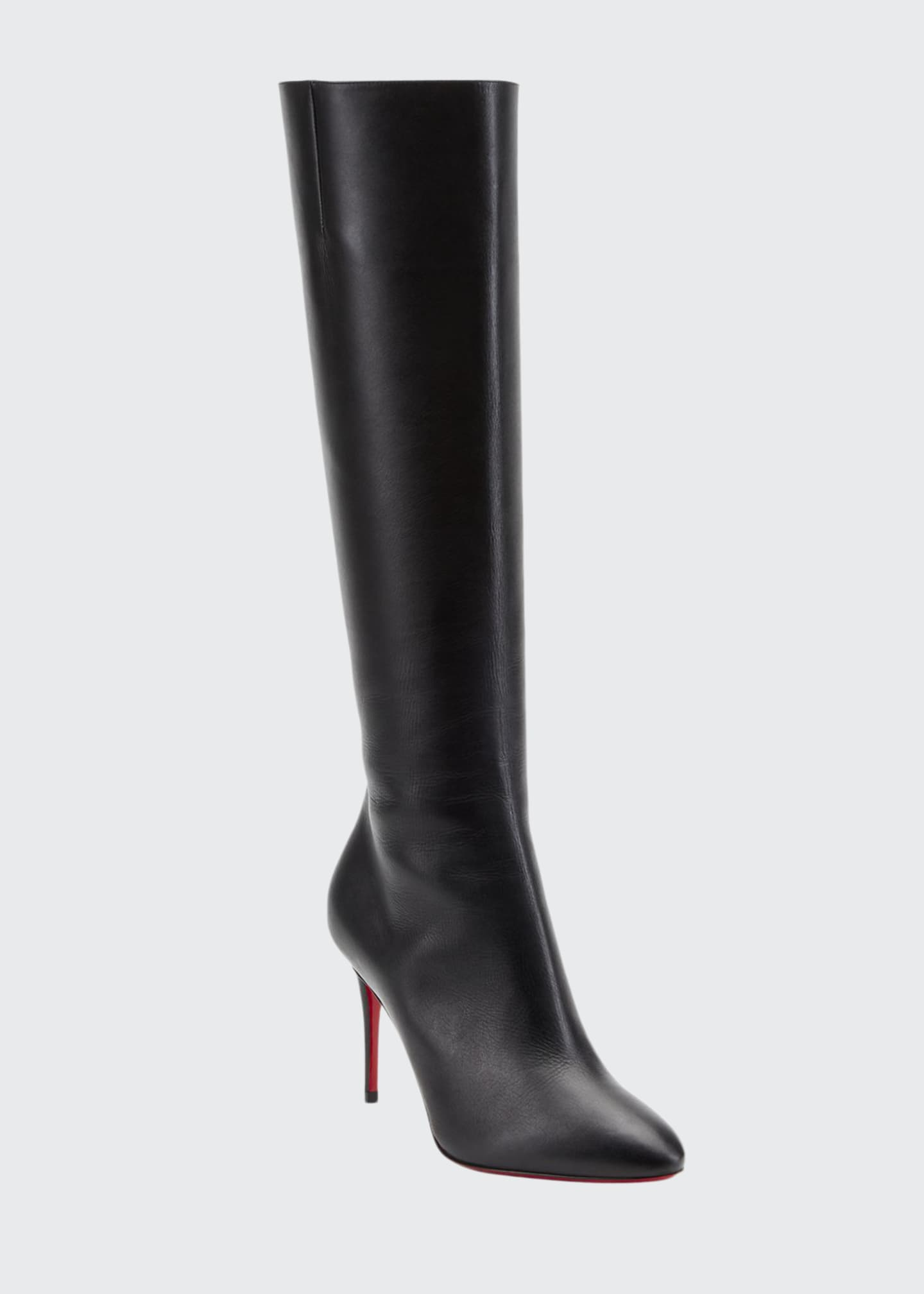 Image 1 of 2: Eloise Botta Red Sole Boots