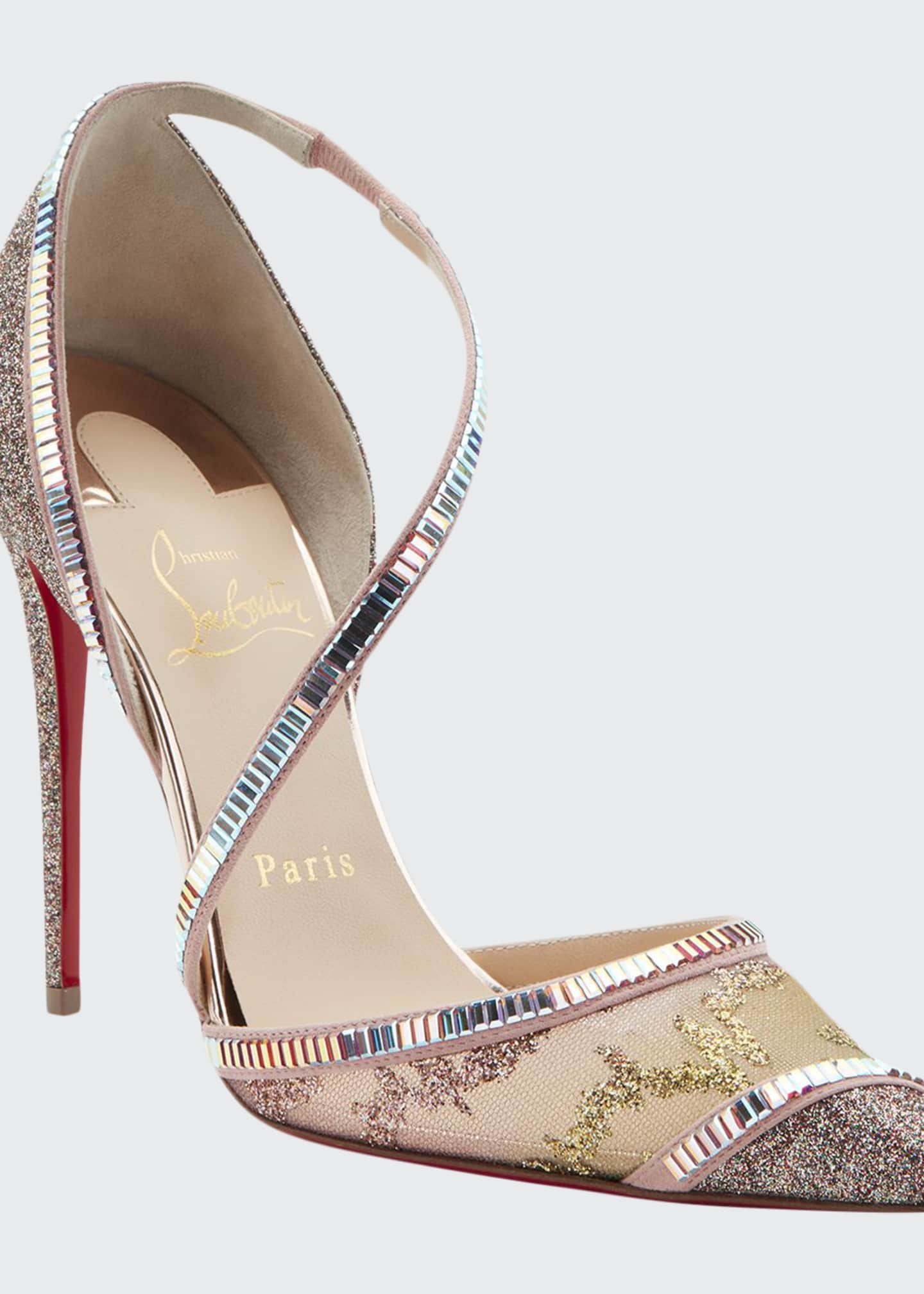 Christian Louboutin Chiara Diams Red Sole Pumps