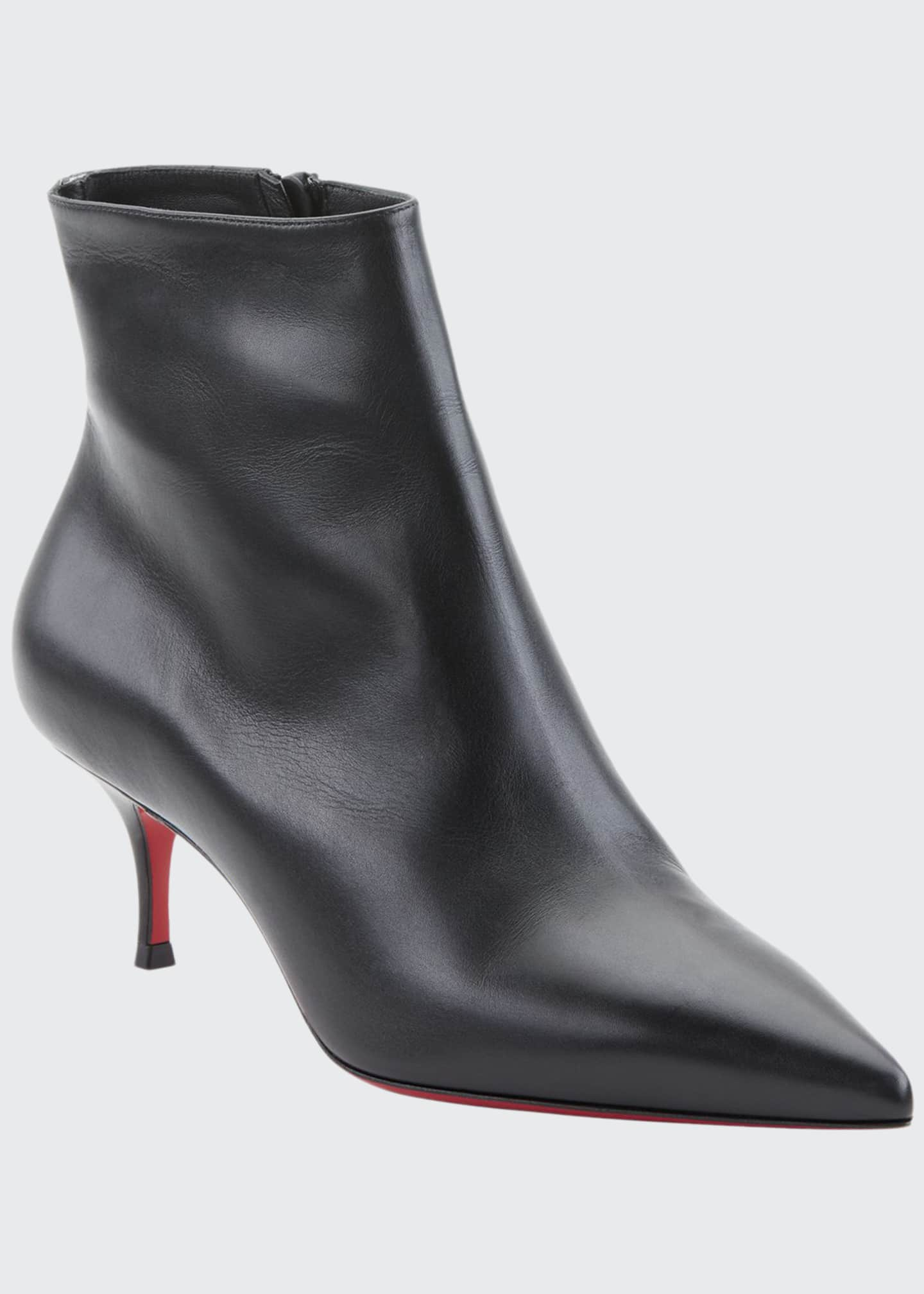 Image 1 of 2: So Kate Red Sole Booties