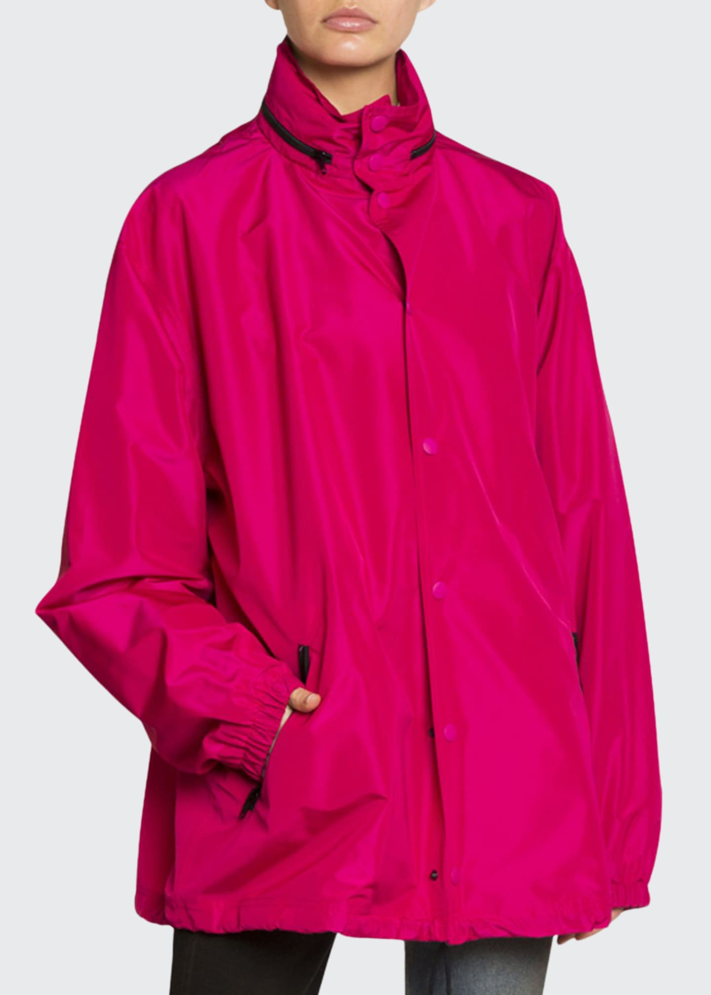 Image 1 of 3: Hooded Wind-Resistant Jacket