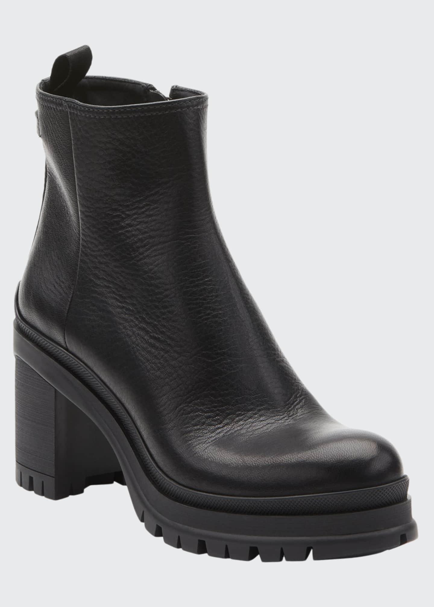 Prada Cervo Lugged Boots