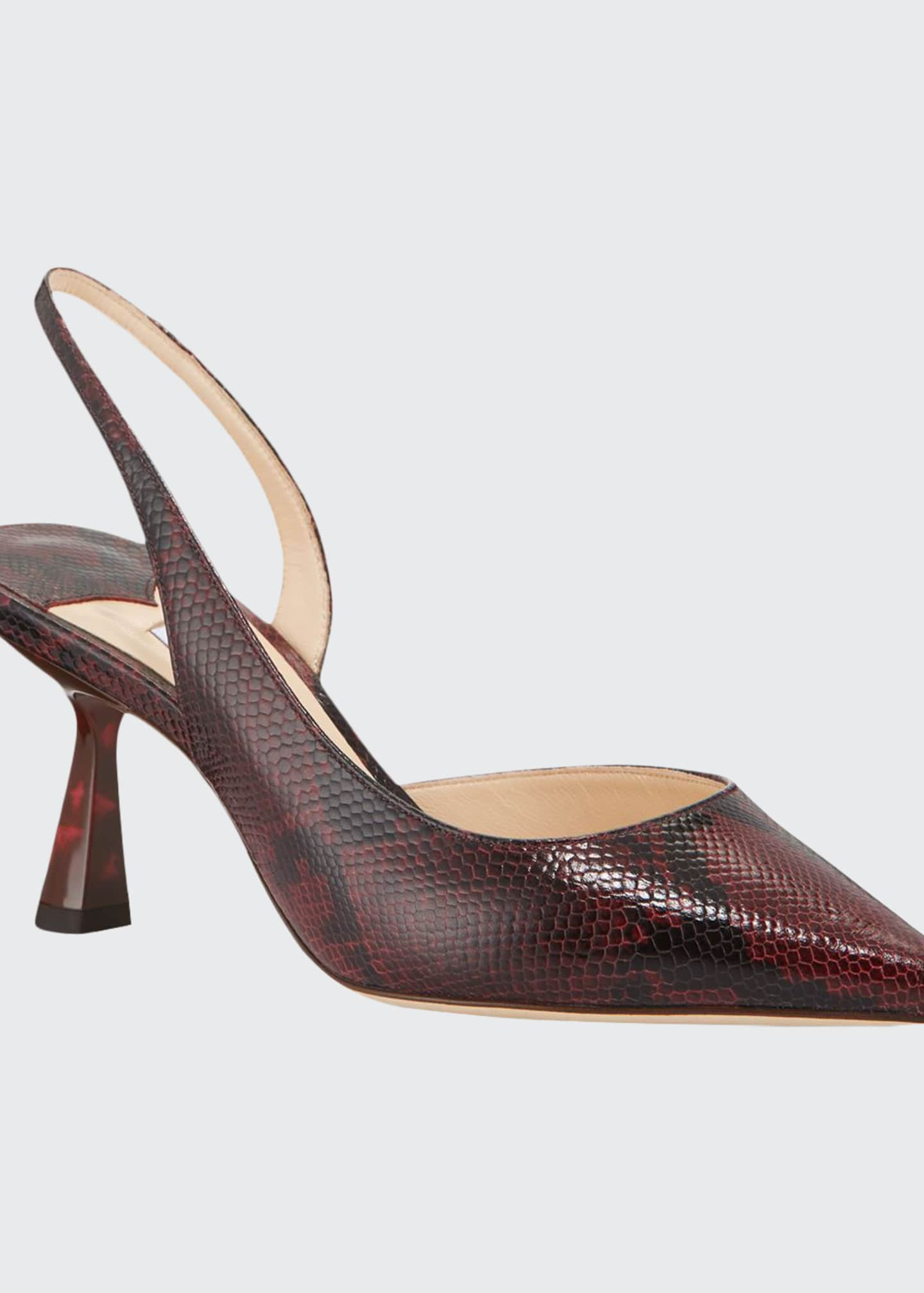 Jimmy Choo 65mm Fetto Snake-Print Leather Pumps