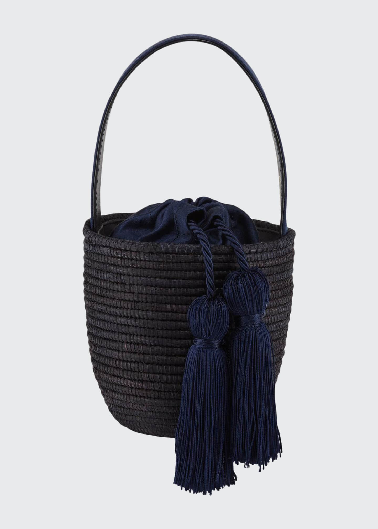 Cesta Collective Woven Party Pail Mini Bucket Bag
