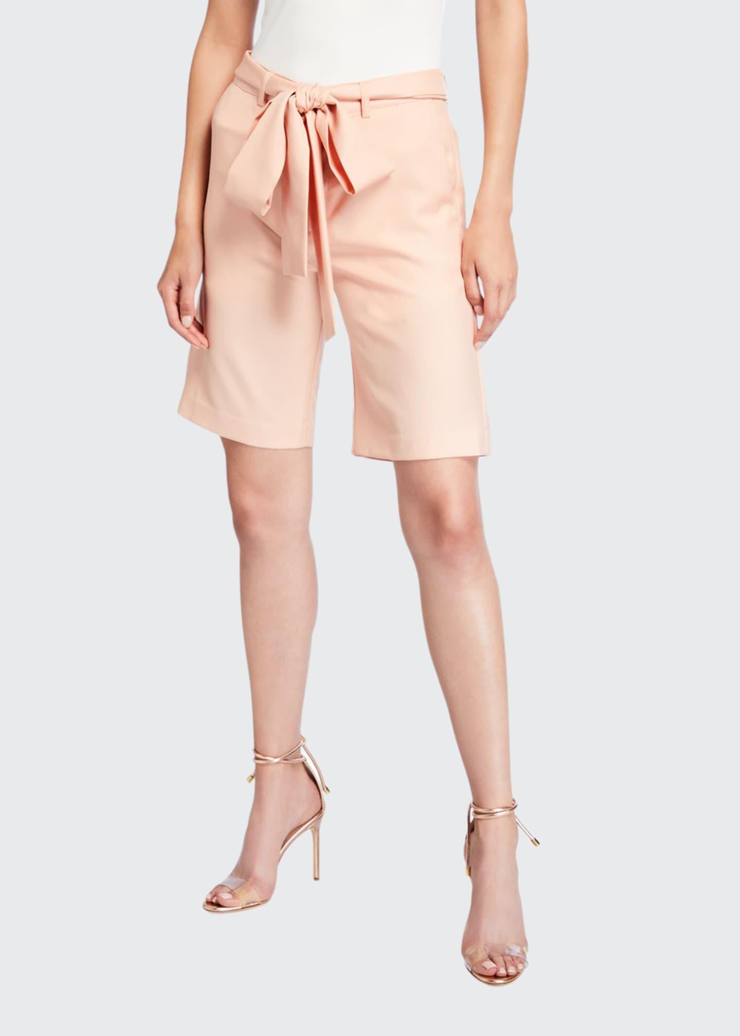 Maggie Marilyn Feeling Peachy Tie-Waist Shorts