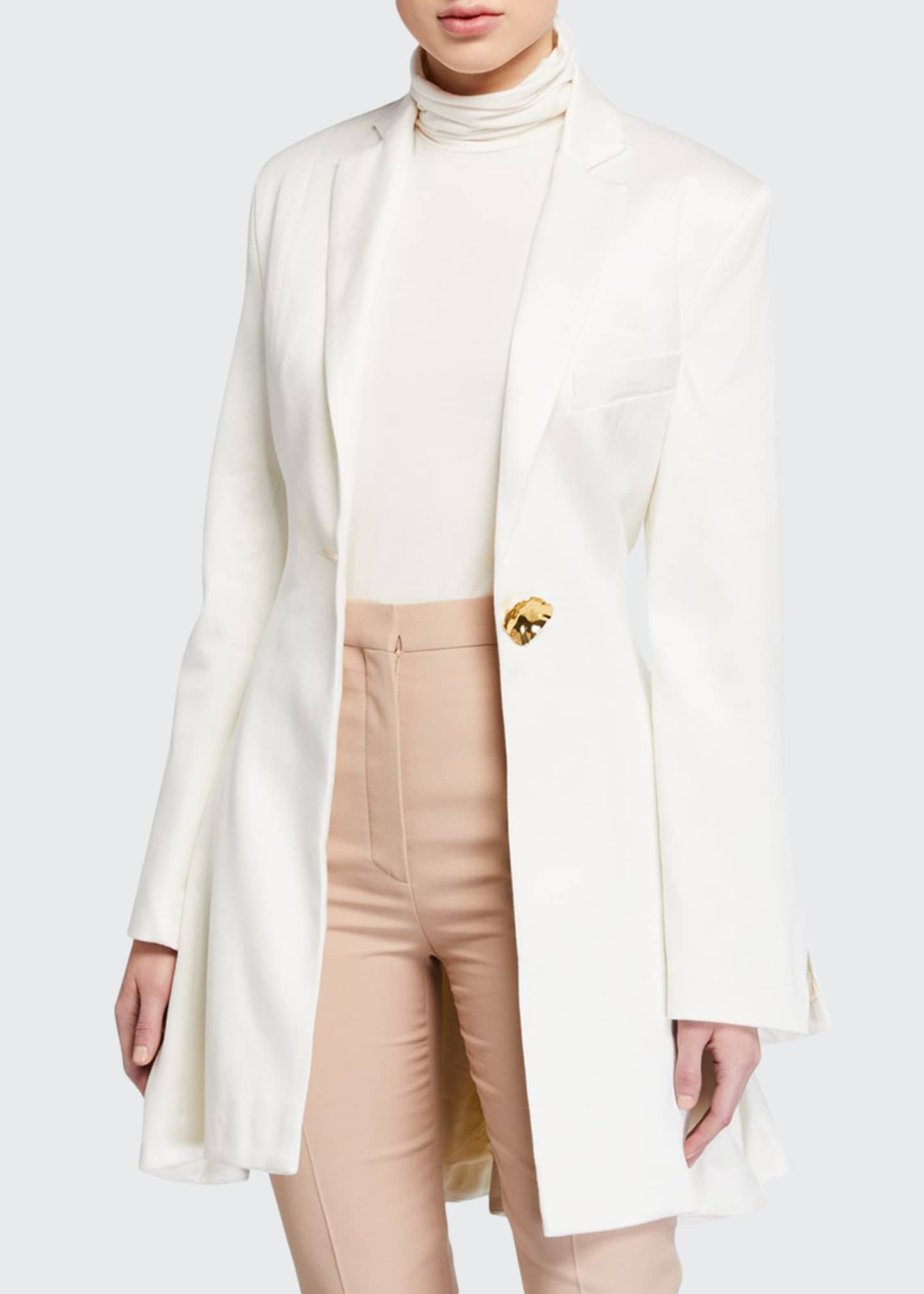 Image 1 of 3: Falling For You Single-Button Jacket